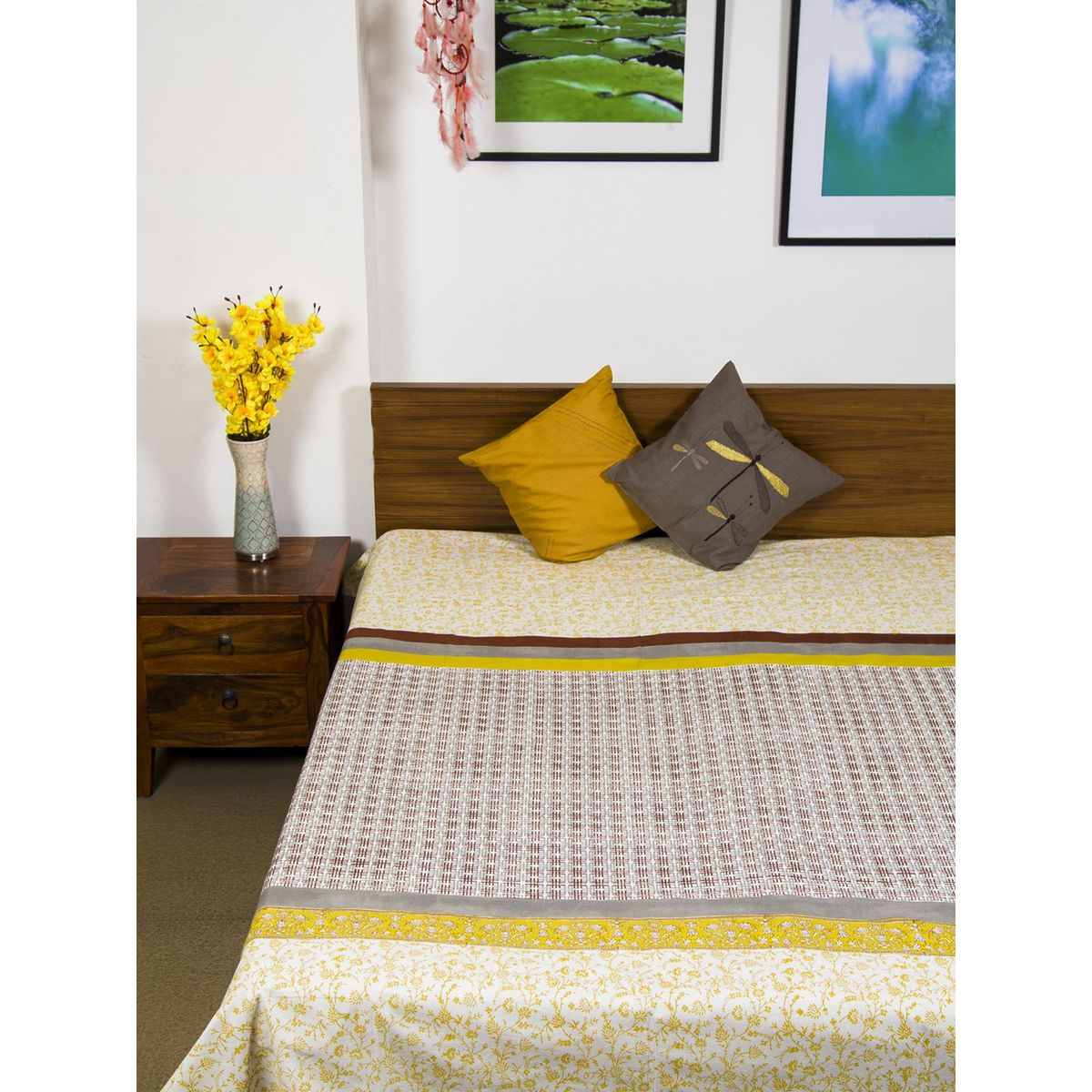 Divit Single Bedsheet without Pillow Cover