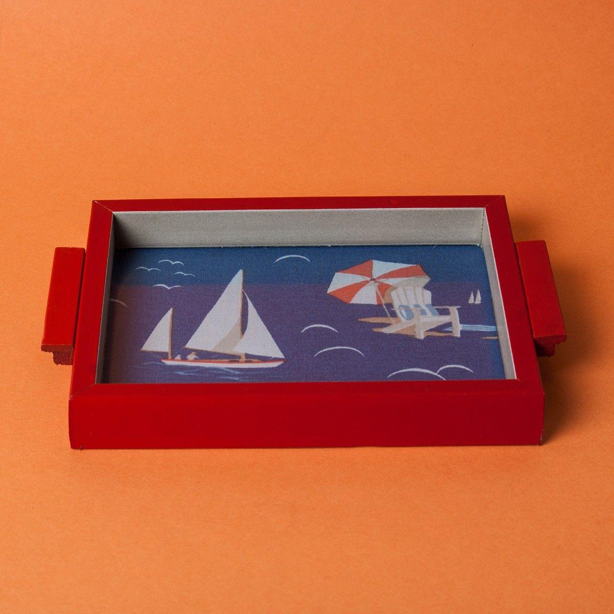 Set to sail tray