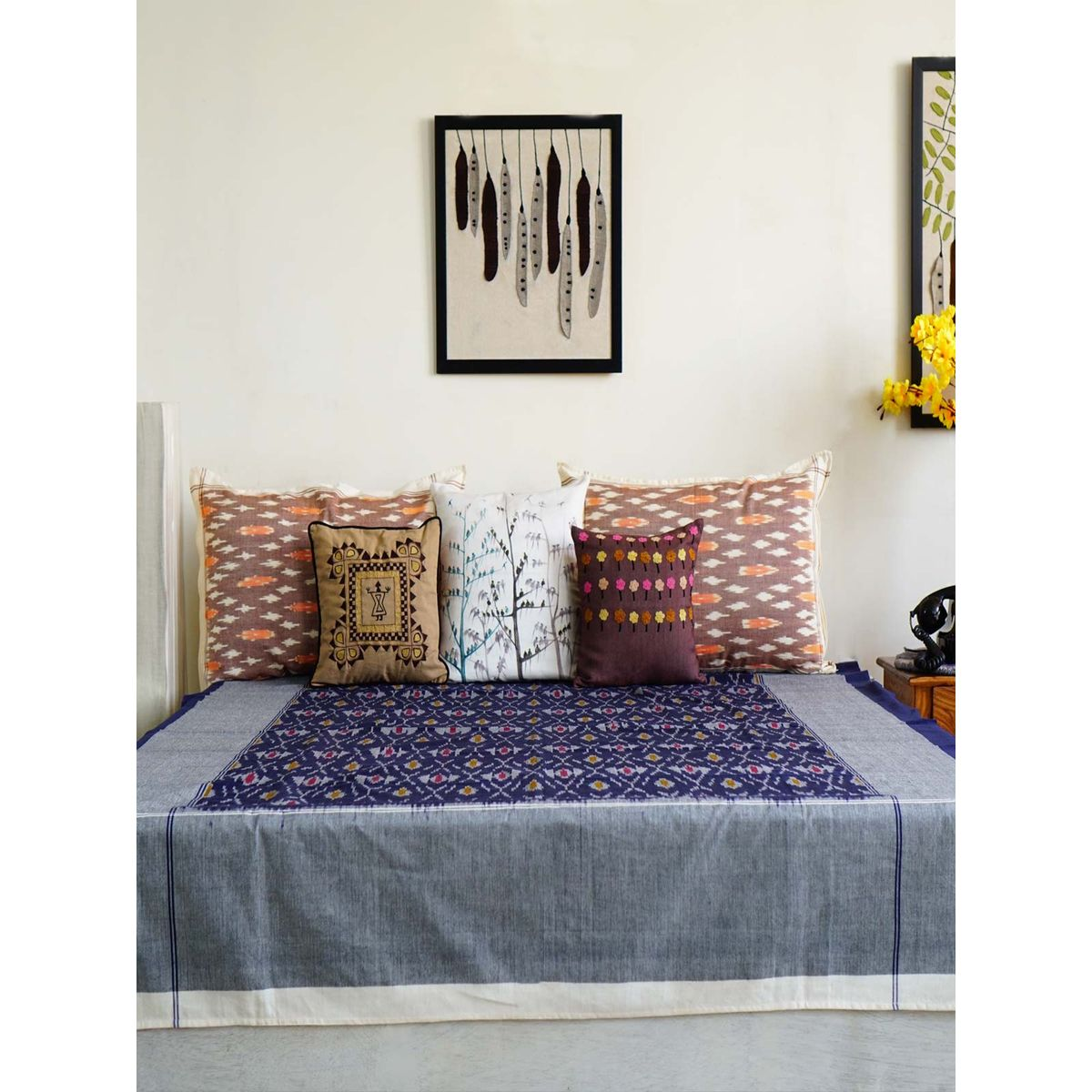 Anokhi Single Bedsheet without Pillow Cover