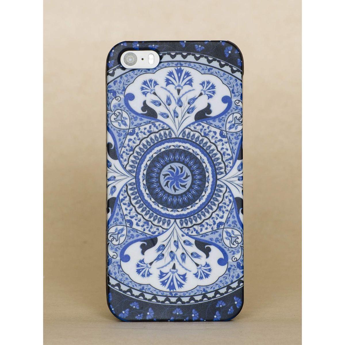 Blue Kaleidoscope Iphone 5S case