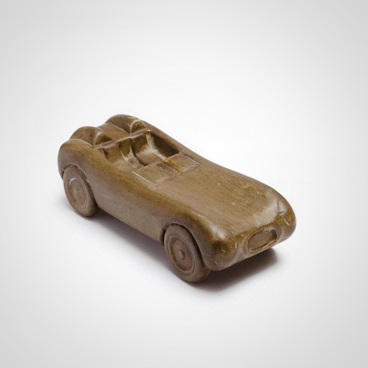 Brown Ceramic Car Model
