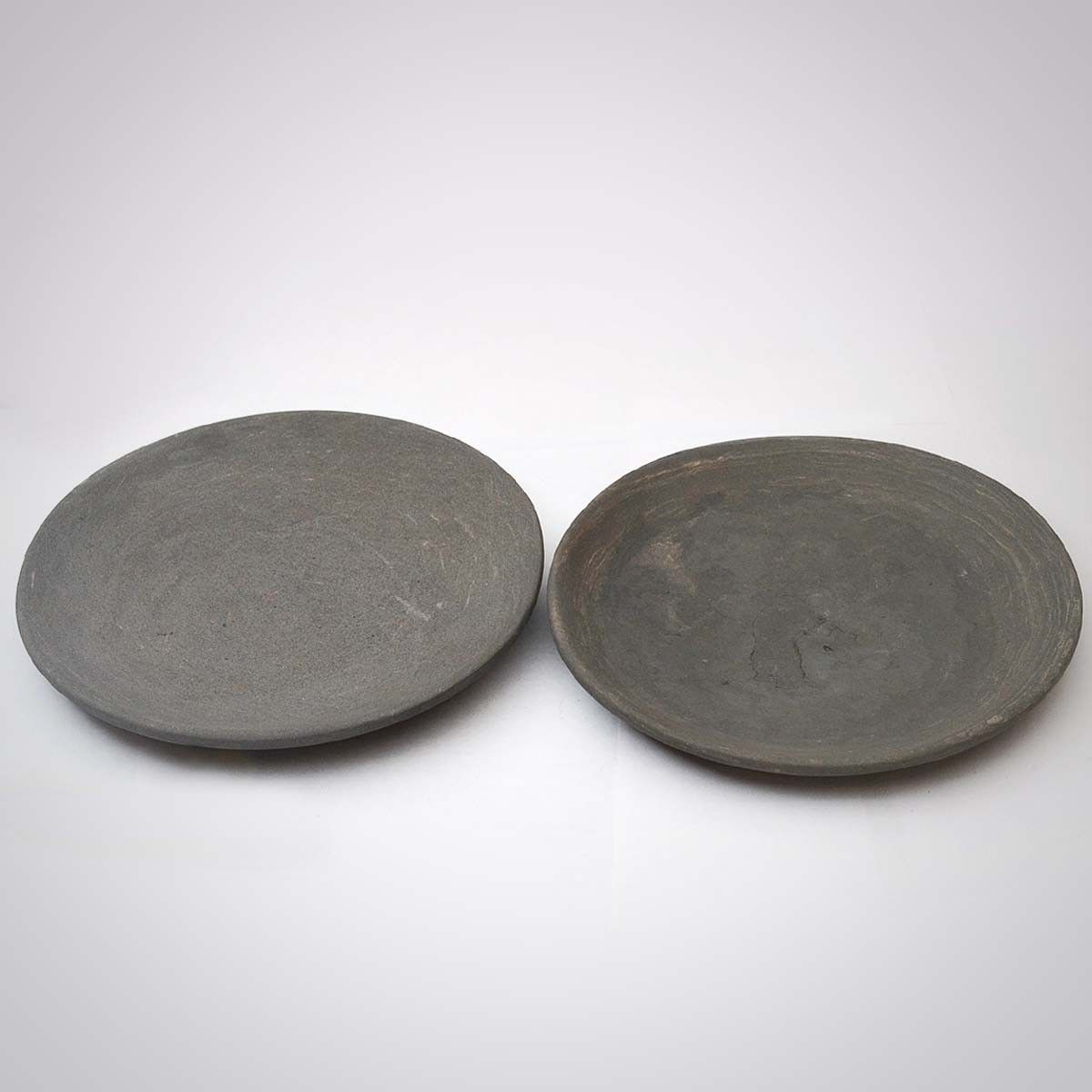 Stone Decorative Plate Set Of Two