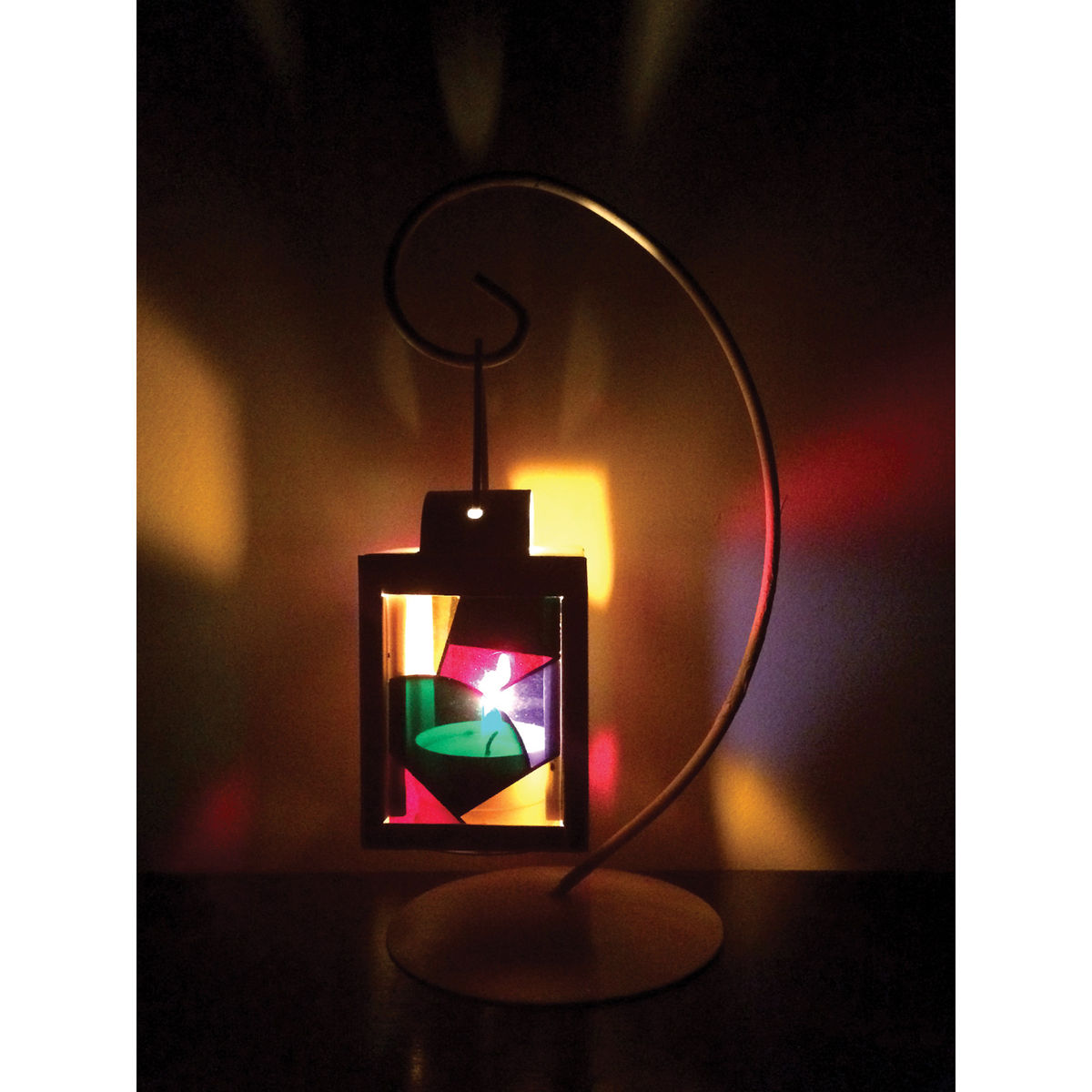 Majestic Colorful Table Lamp