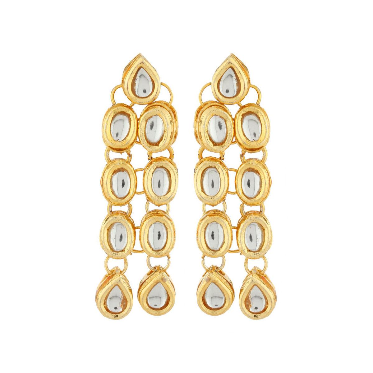 Kundan Dangle earrings