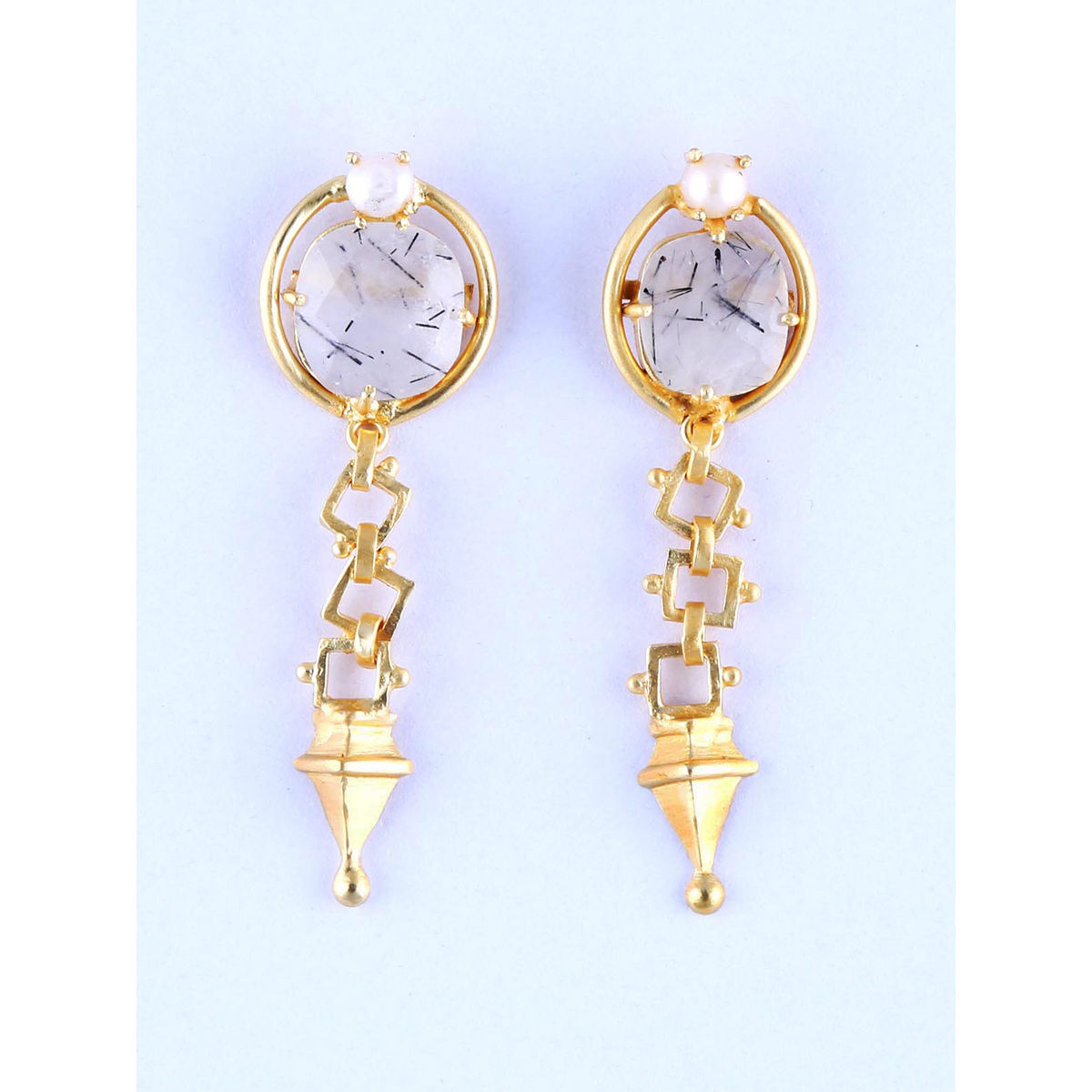 Lenzaa Blanc Earrings