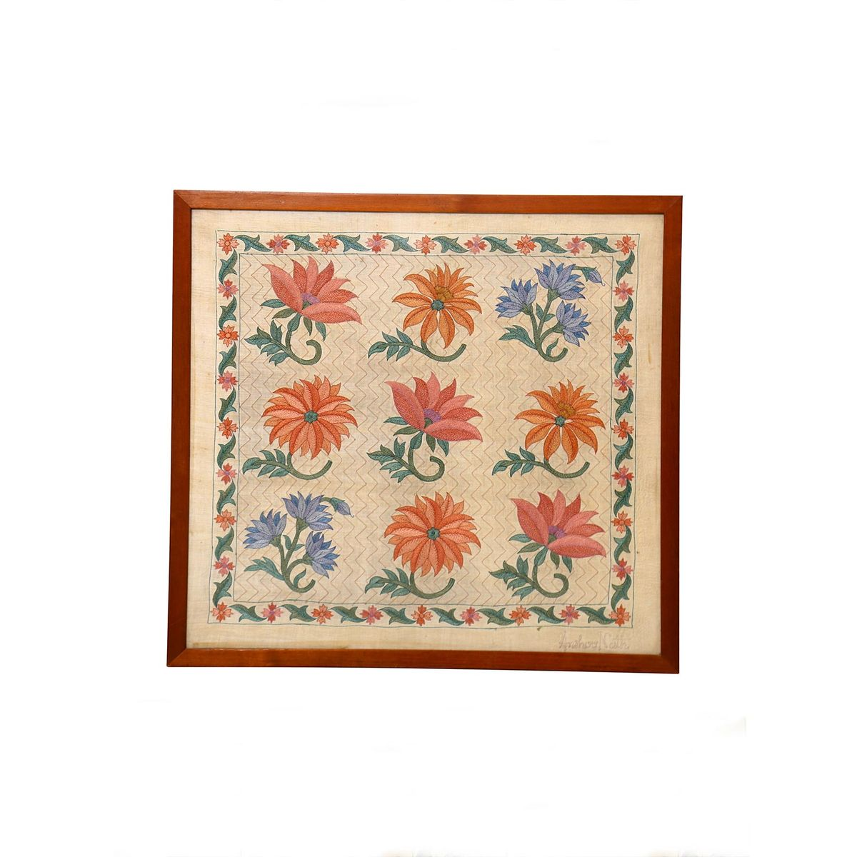 Marigold Square Wallhanging