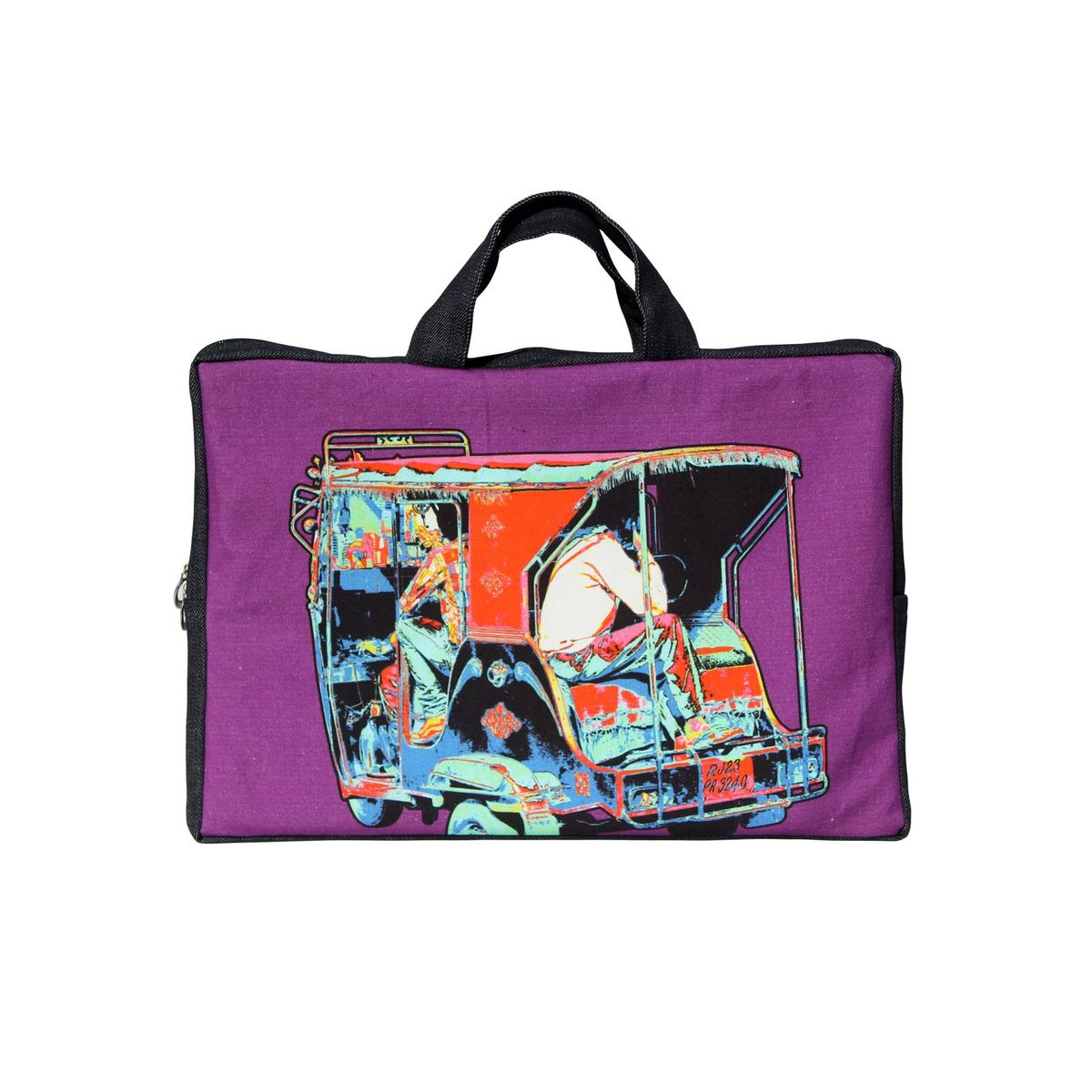 Funky Taxi Laptop Sleeve