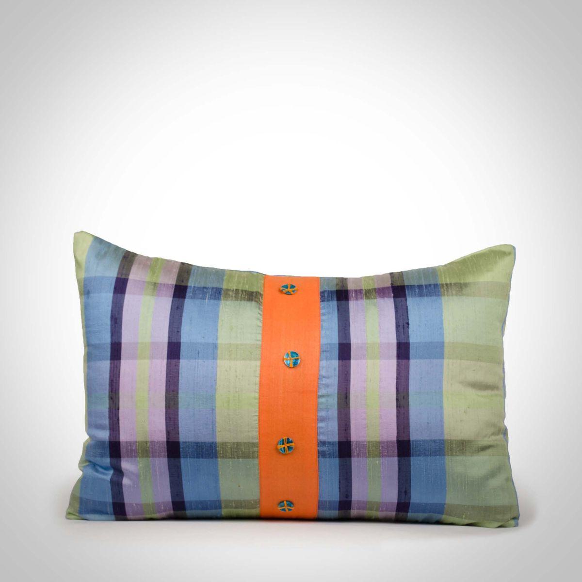 Silk Cushion Cover - 12x18Inch