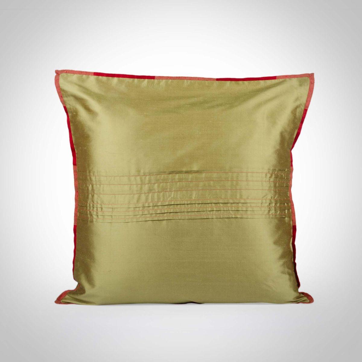 Kachi kairi offset Pink Cushion Cover - 16x16Inch