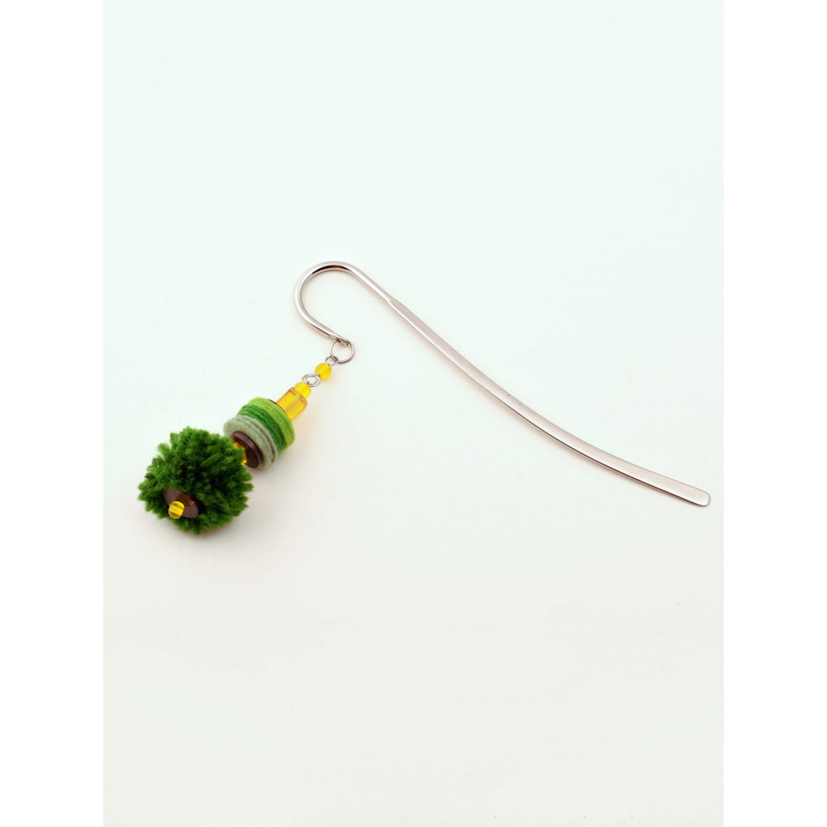 Elf- in-a Hat Bookmark - Green
