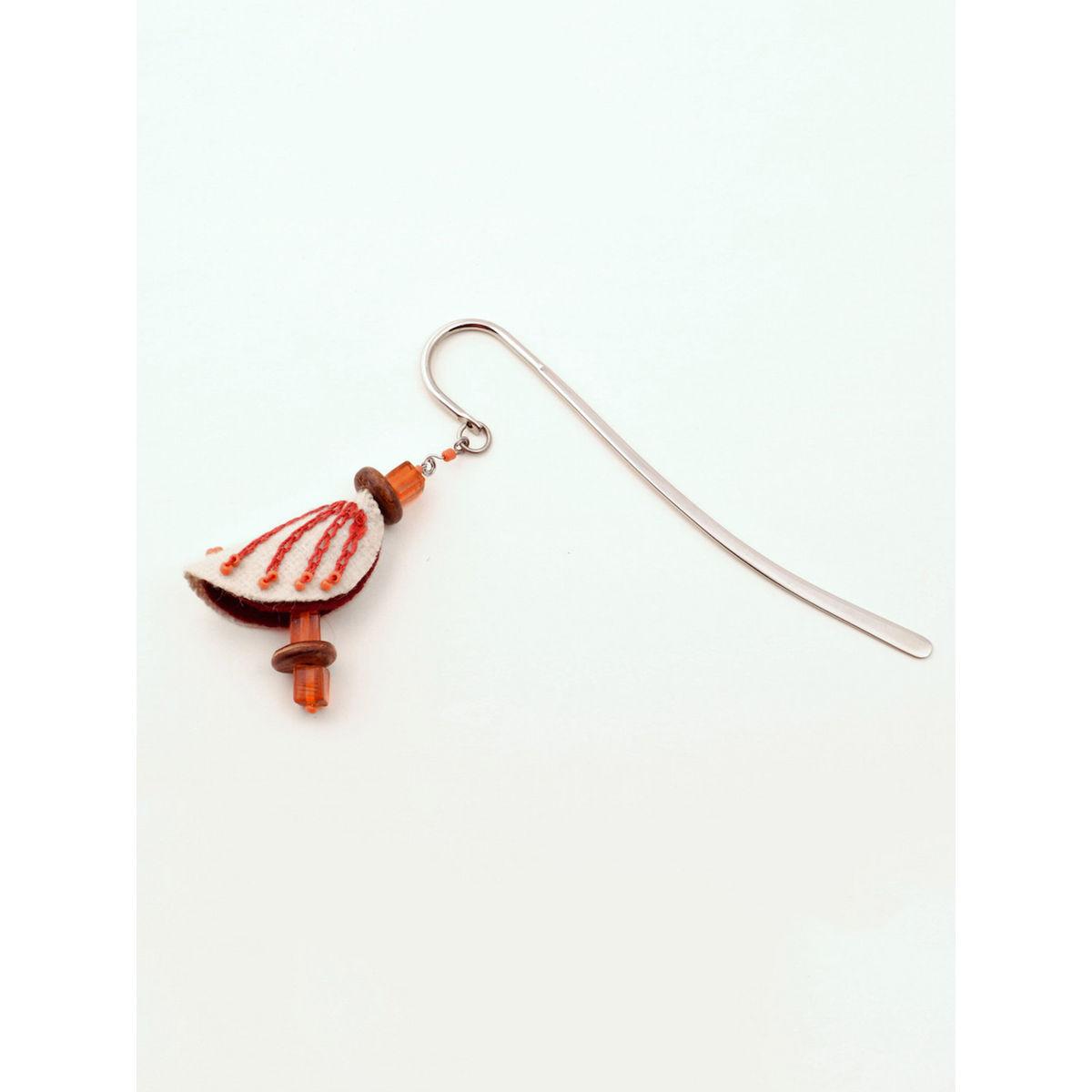 Chrysalis Bookmark - Orange