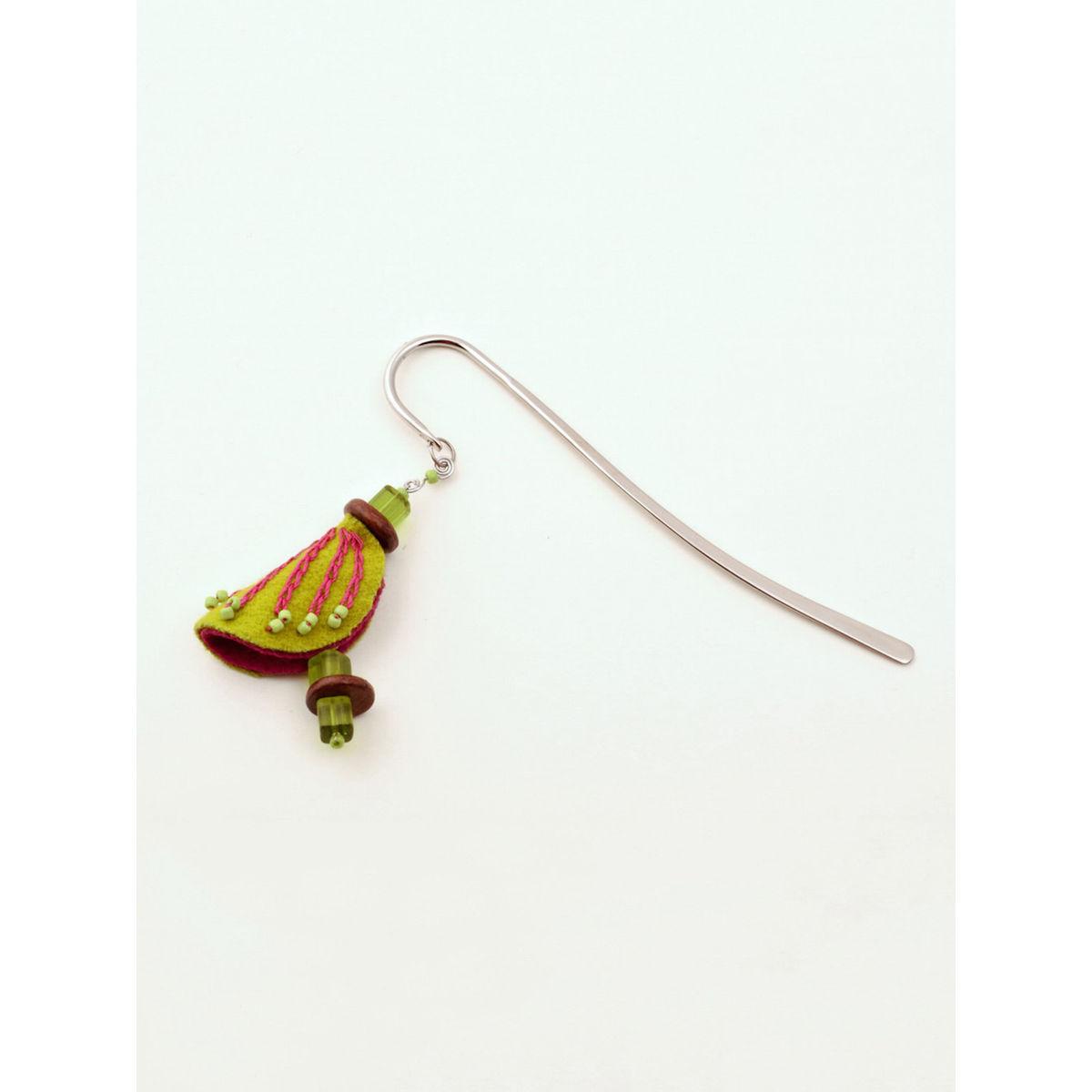 Chrysalis Bookmark - Green