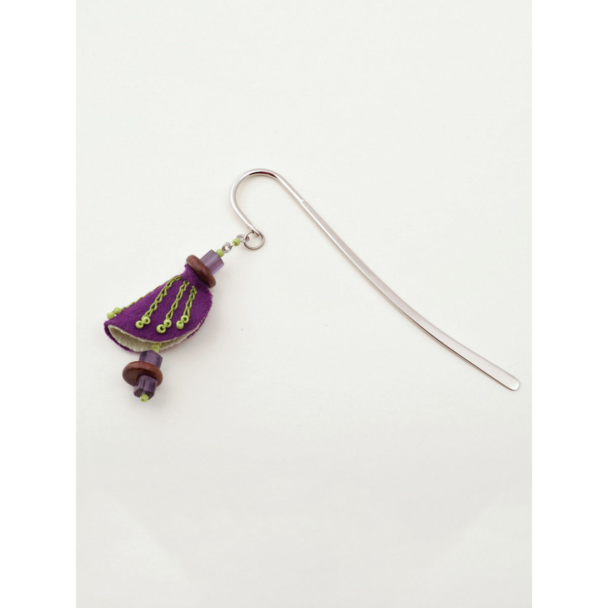 Chrysalis Bookmark - Purple