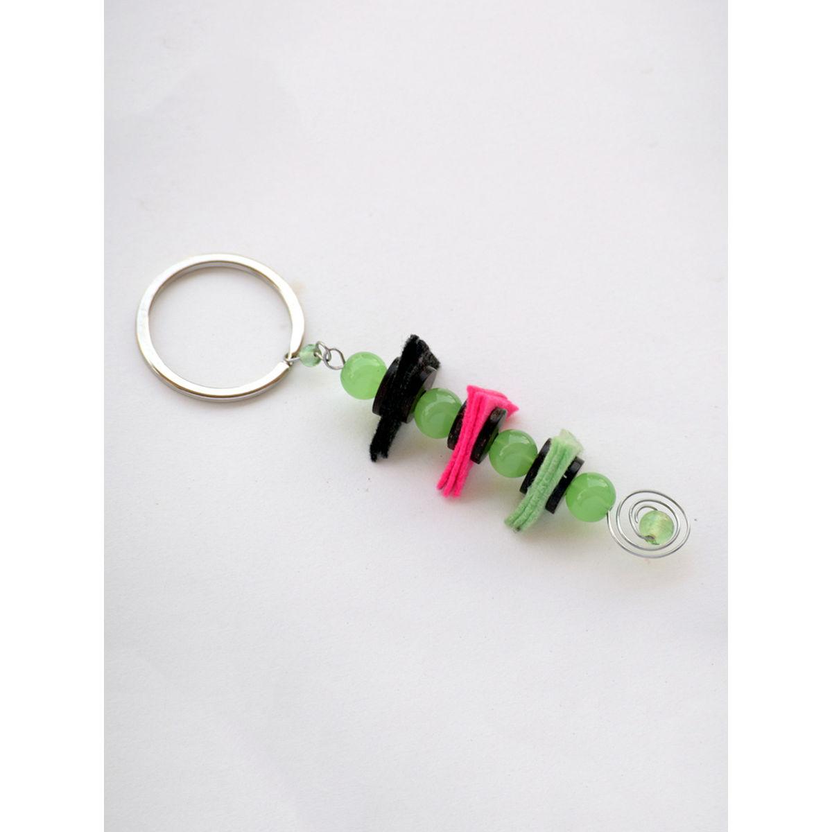 Balancing Act Keychain - Green