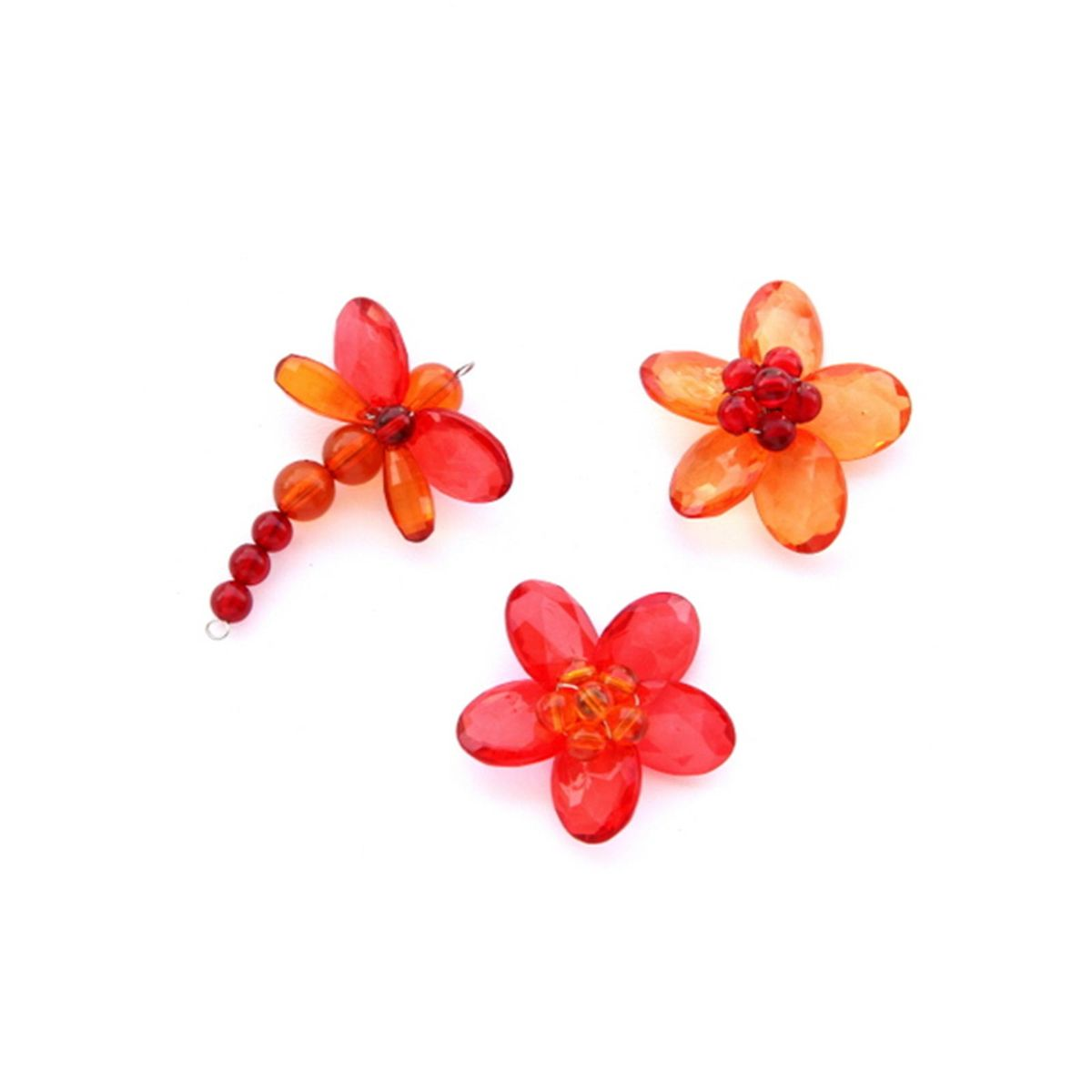 Quirky Fridge Magnets- Garden Red
