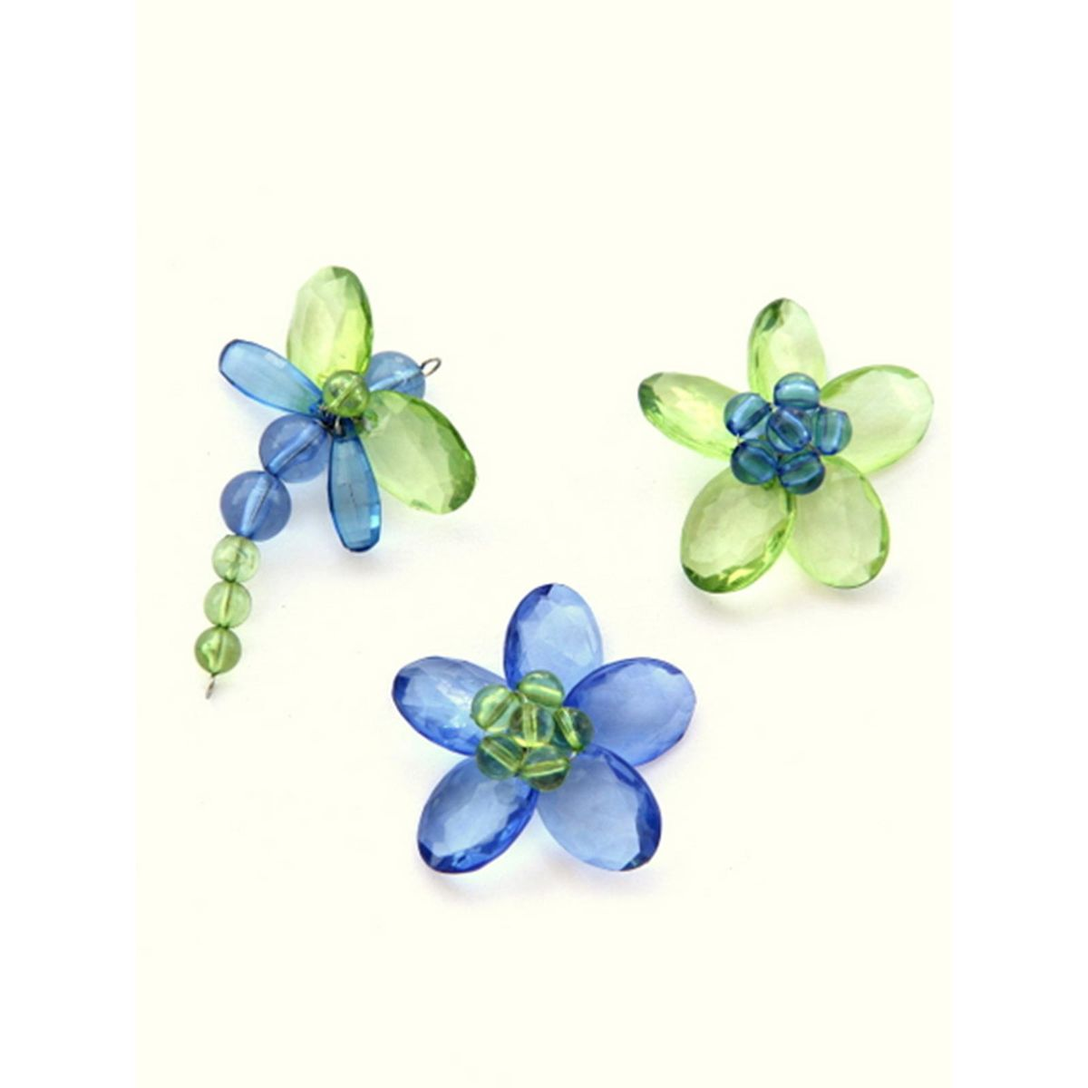 Quirky Fridge Magnets- Garden Blue