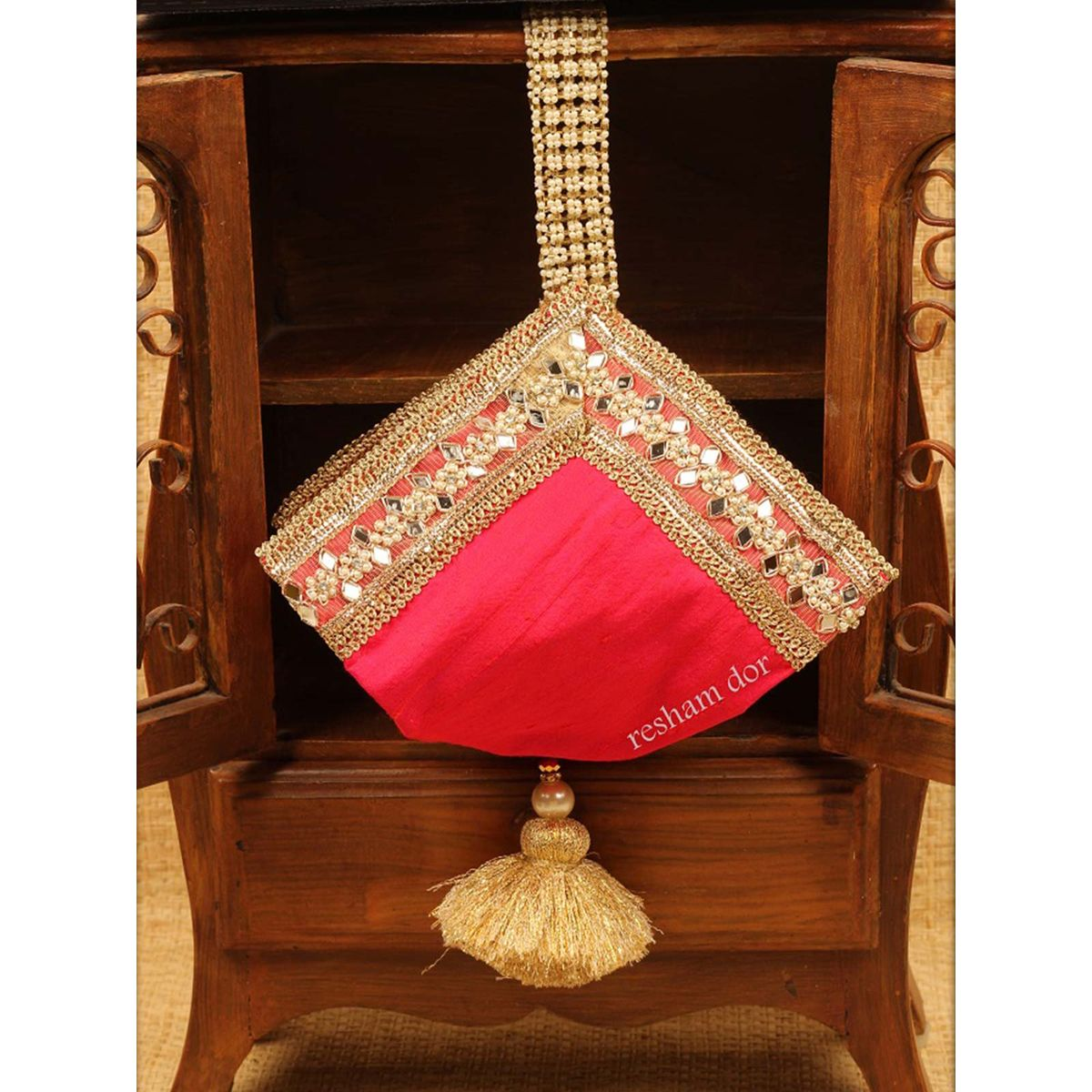 Pink Sakhi Potli