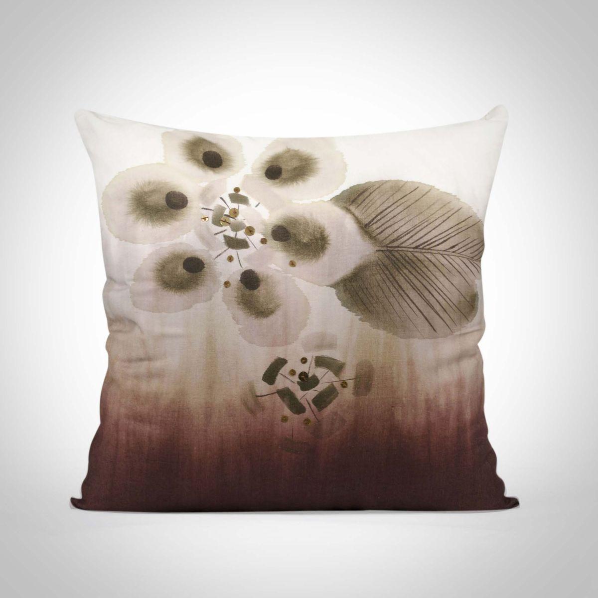 Cotton Silk Cushion Cover - 18x18Inch