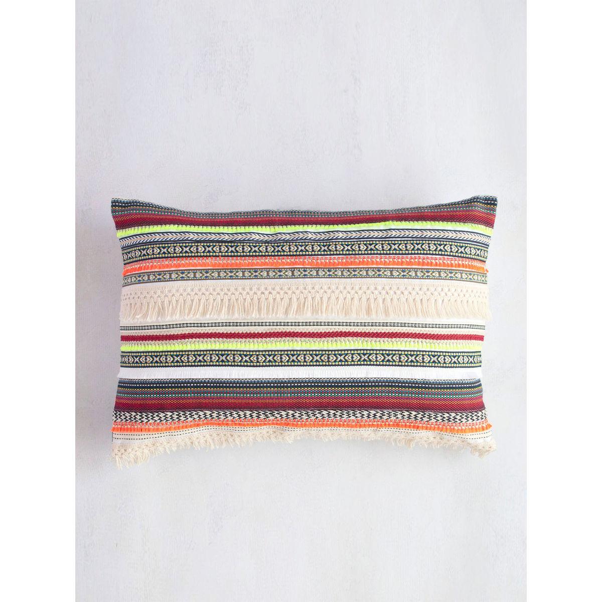 Boho Lace Cushion Cover