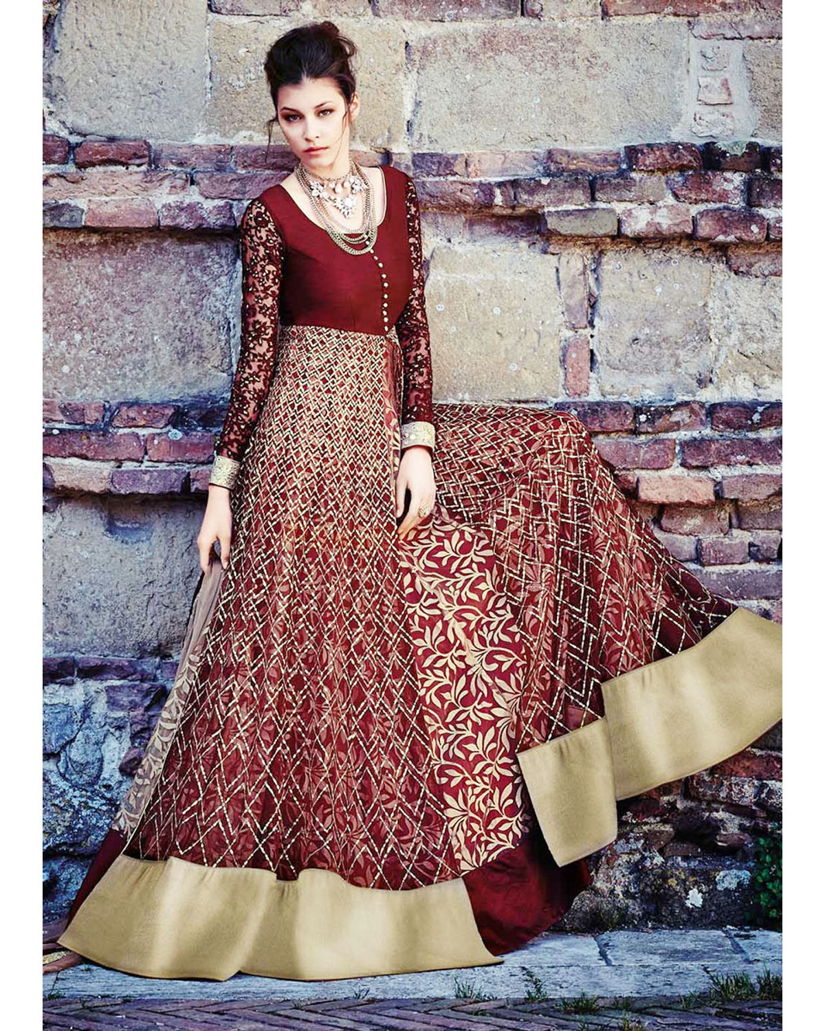 Anarkali gown style dresses