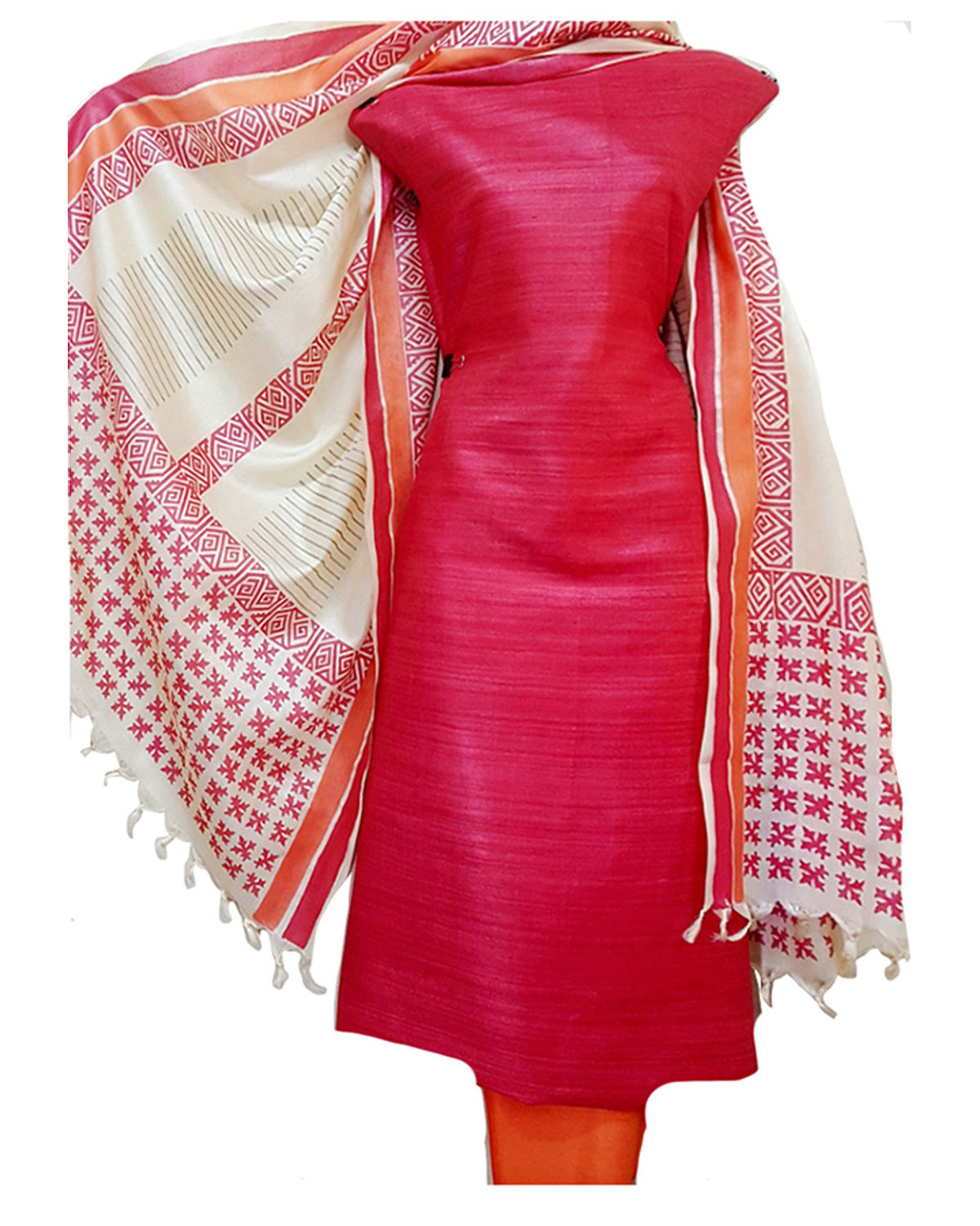 6326caad1c Tussar Silk Dress Material Online India – DACC