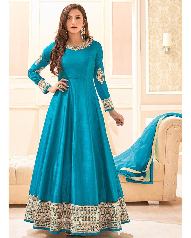 Elegant Gauhar Khan Anarkali Suit 10   Deesdr10   Dees Alley