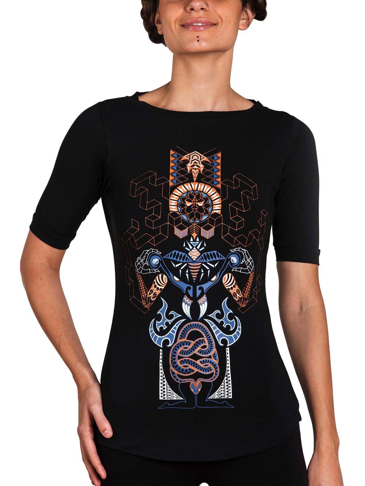 c921e6f878d Chakra Kundalini Rising Spaghetti Top- Yoga Tank top- Kundalini Snake T  shirt