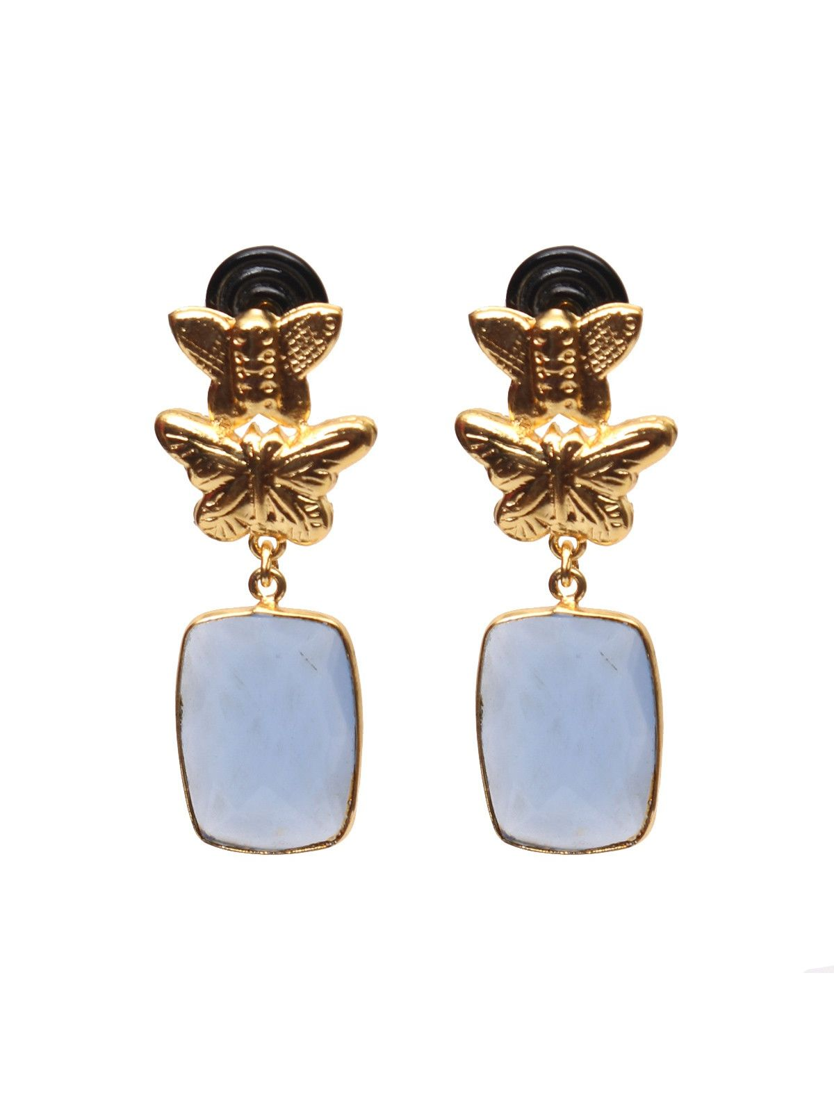 Herb earth earrings