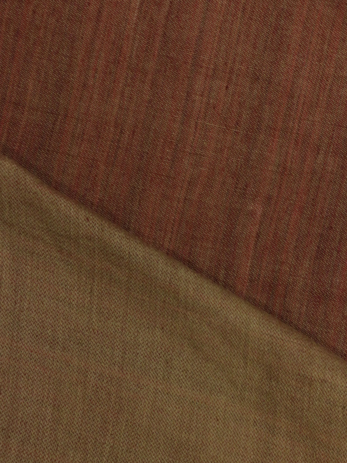 Dust Brown mangalgiri stripes handloom cotton fabric