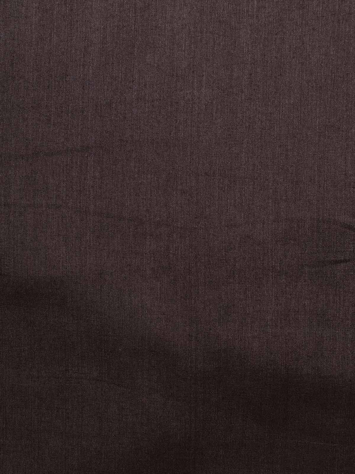 Black Red Cotton Silk Fabric
