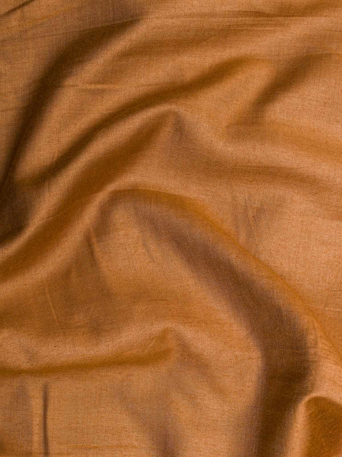 Mustard Cotton Silk Fabric