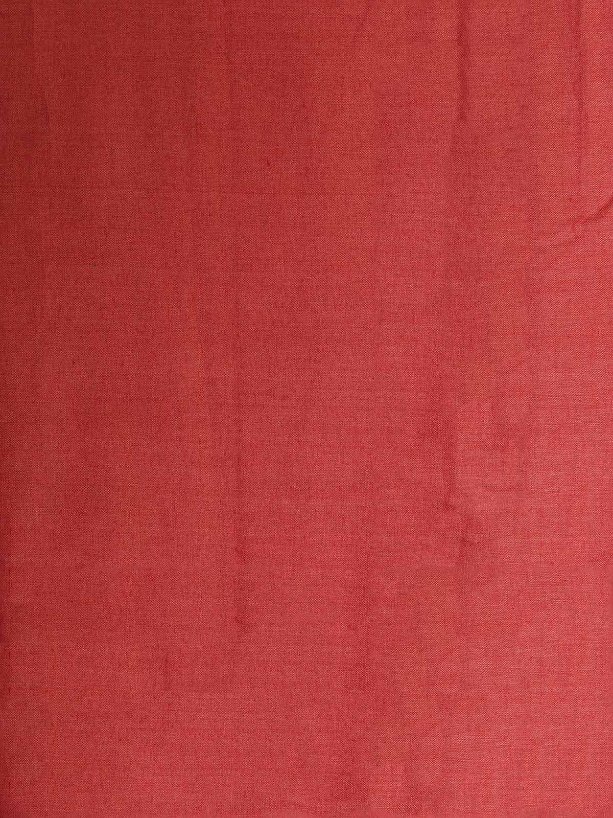 Light Red Cotton Silk Fabric