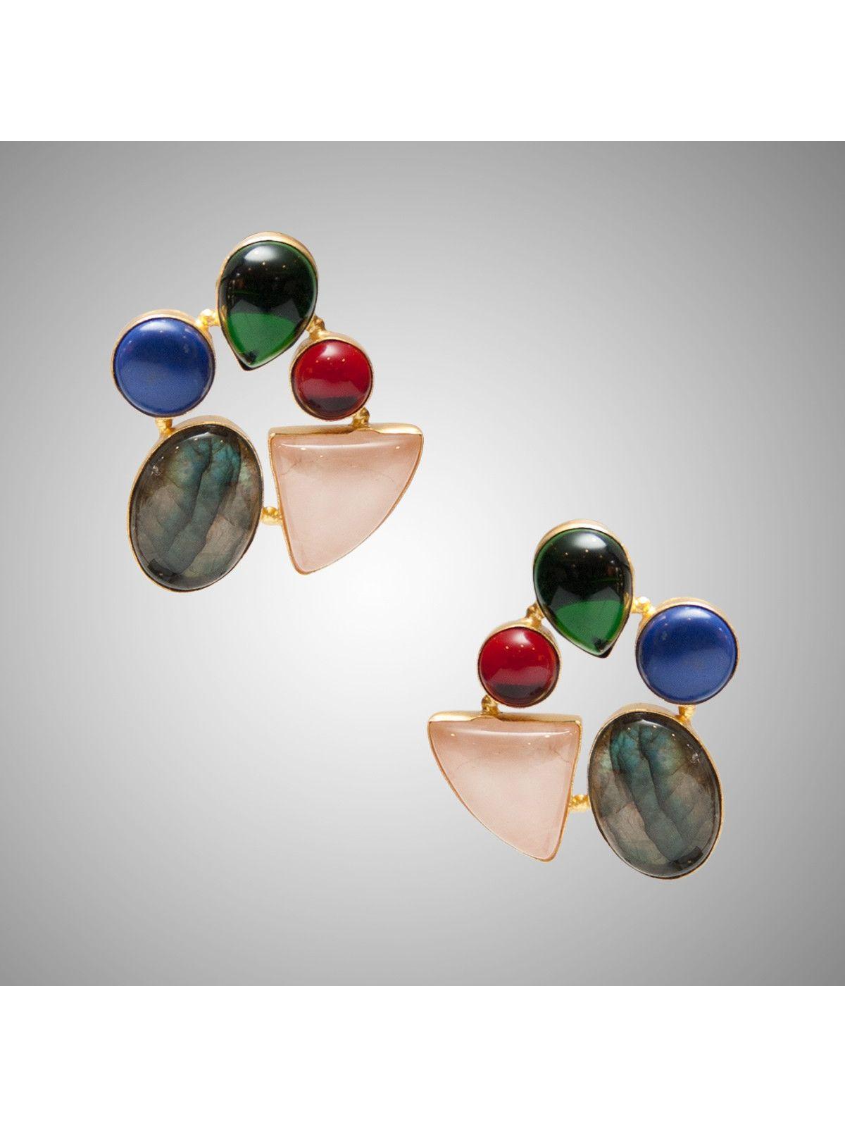 Fizzy Mezcal Margarita Earrings