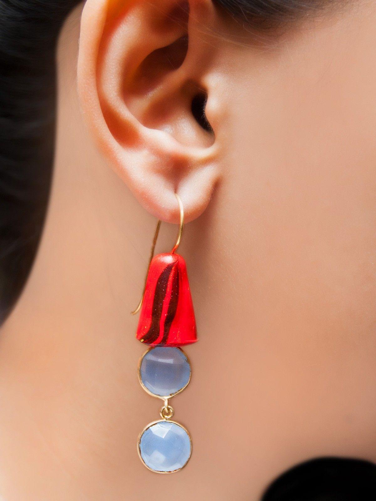 Dawn interstellar earrings