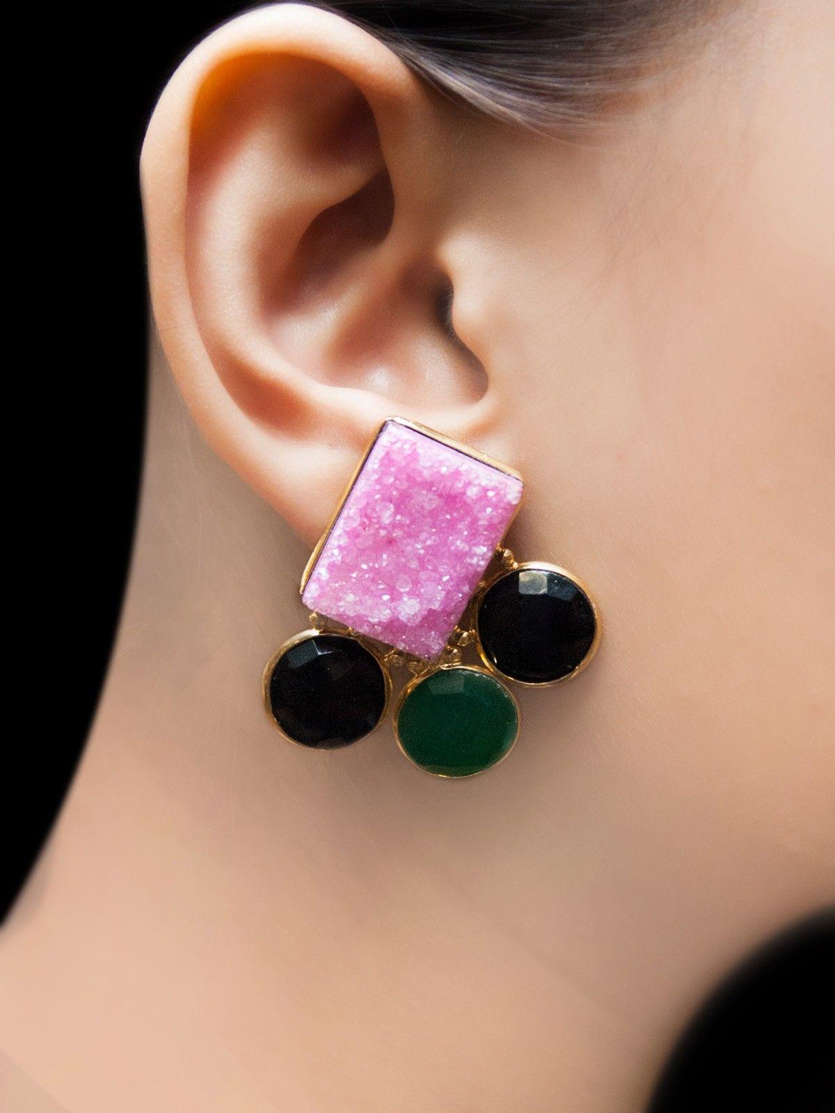 Neptune triton earrings