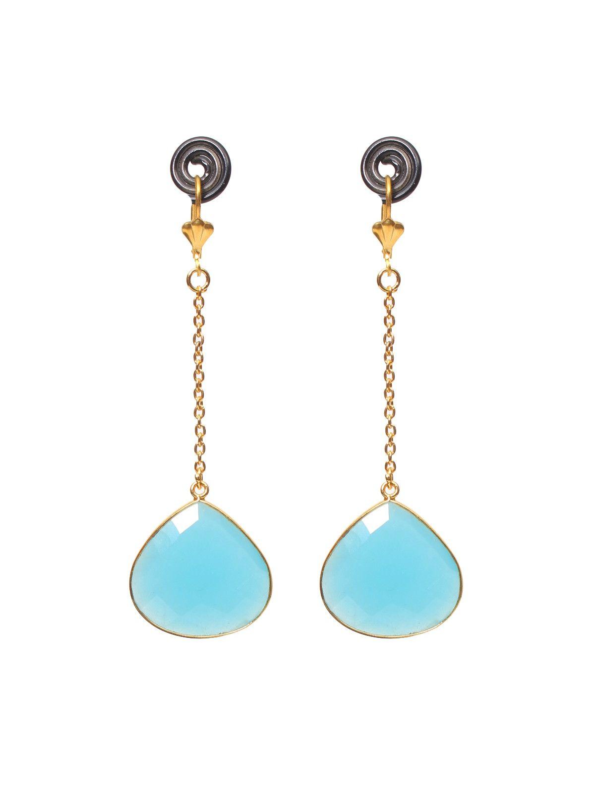 Sea earth earrings