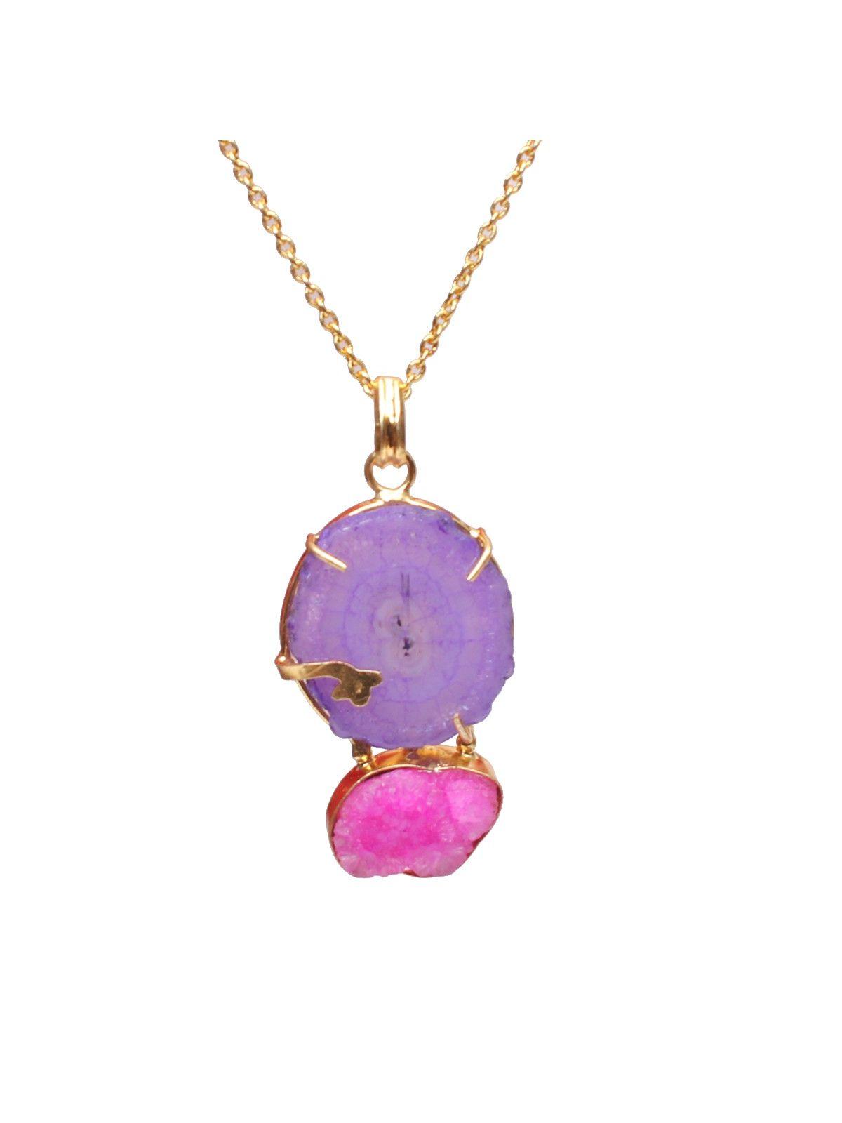 Ultraviolet Venus pendant