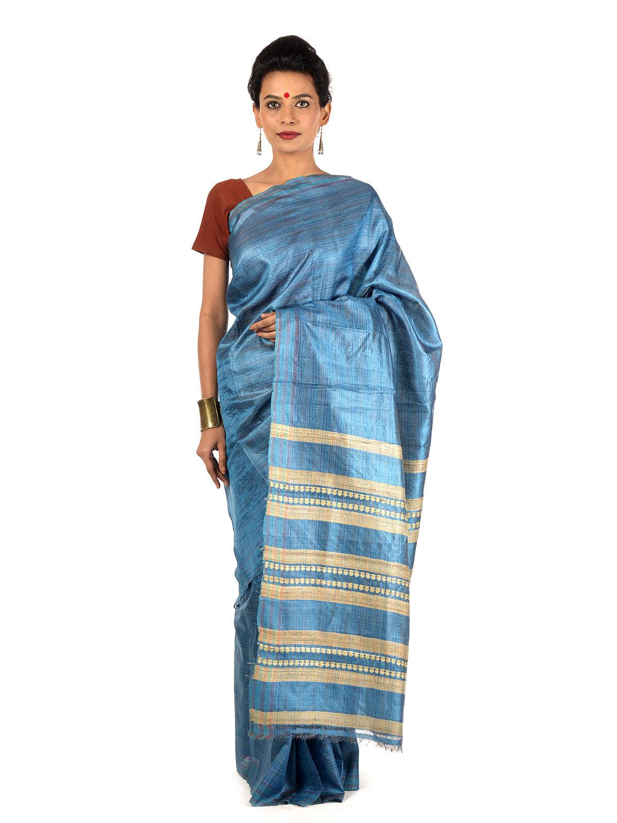 Tuttaka Tussar Silk Saree