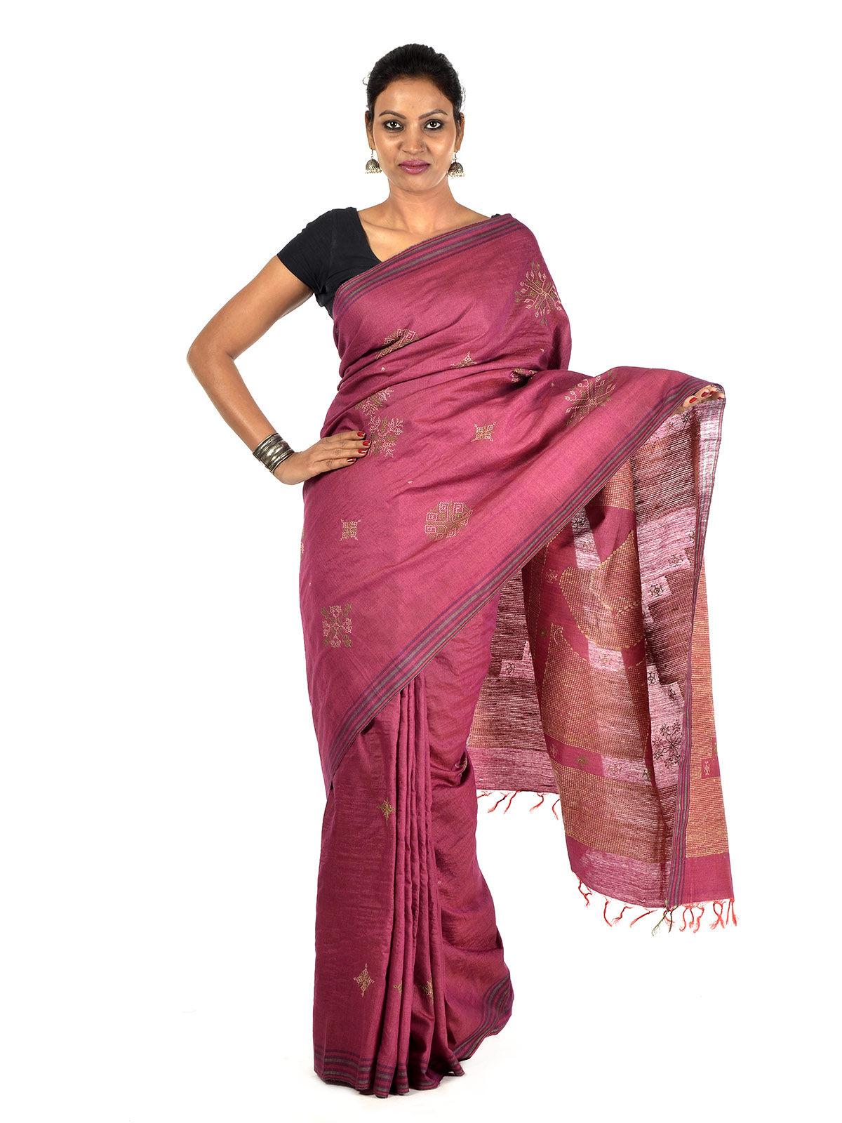 Mukunda Tussar Silk Saree