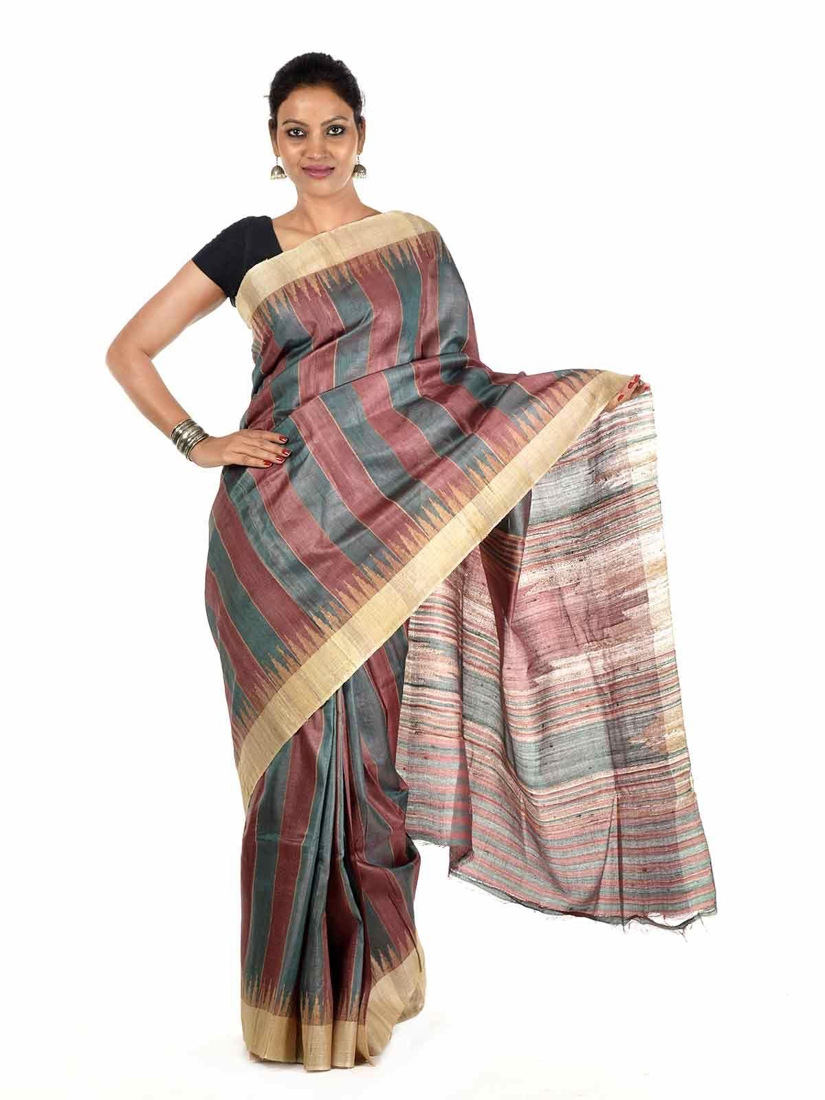 Enaka Tussar Silk Saree