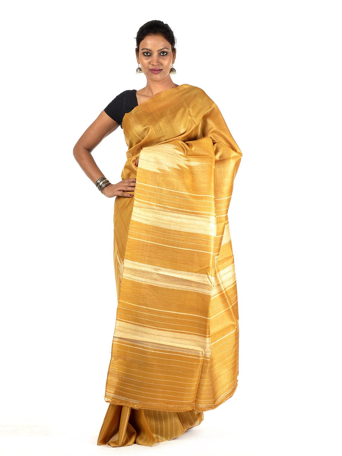 Vandaniya Tussar Silk Saree