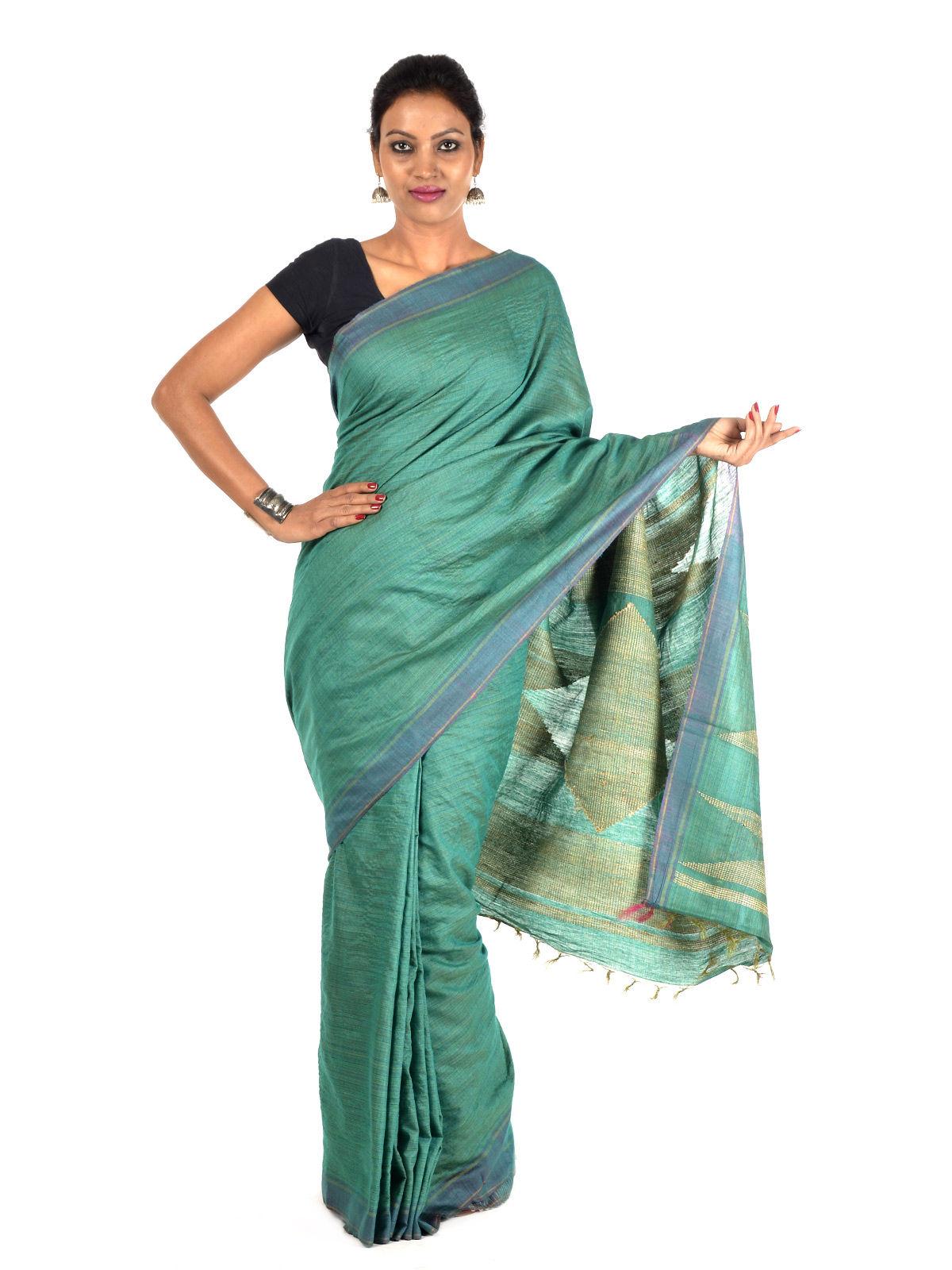 Zitala Tussar Silk Saree