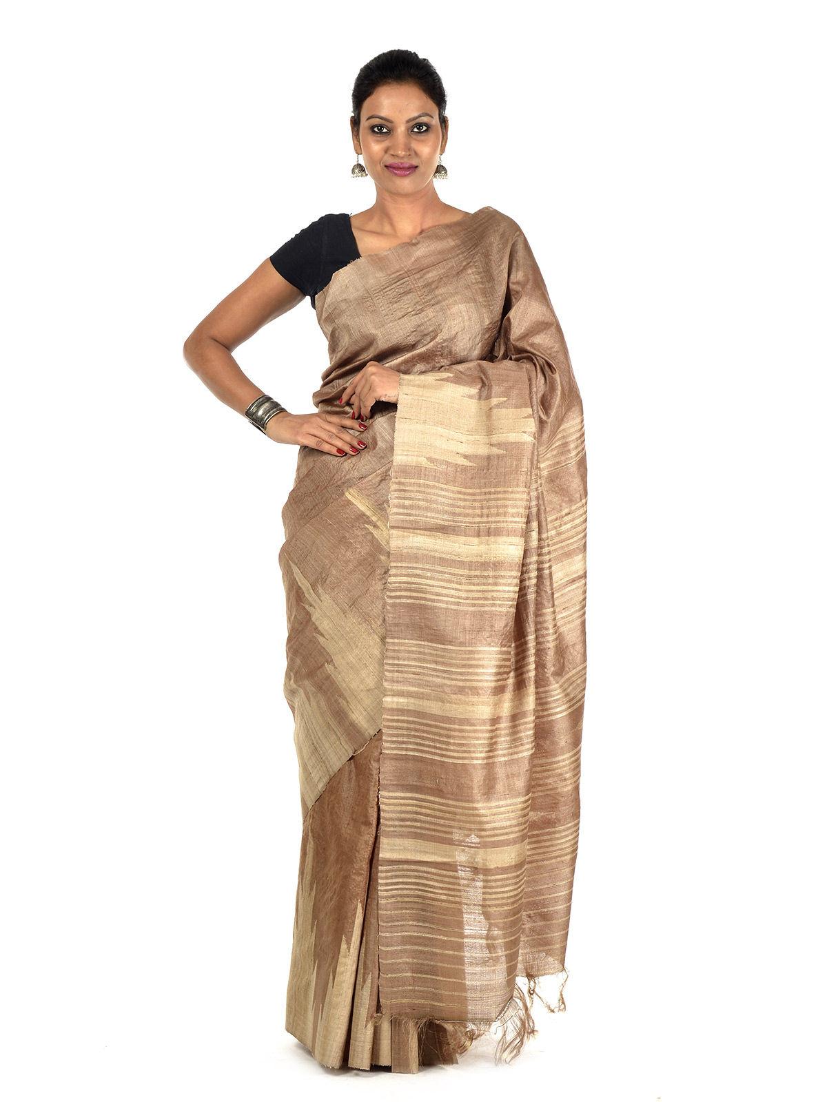 Pijala Tussar Silk Saree