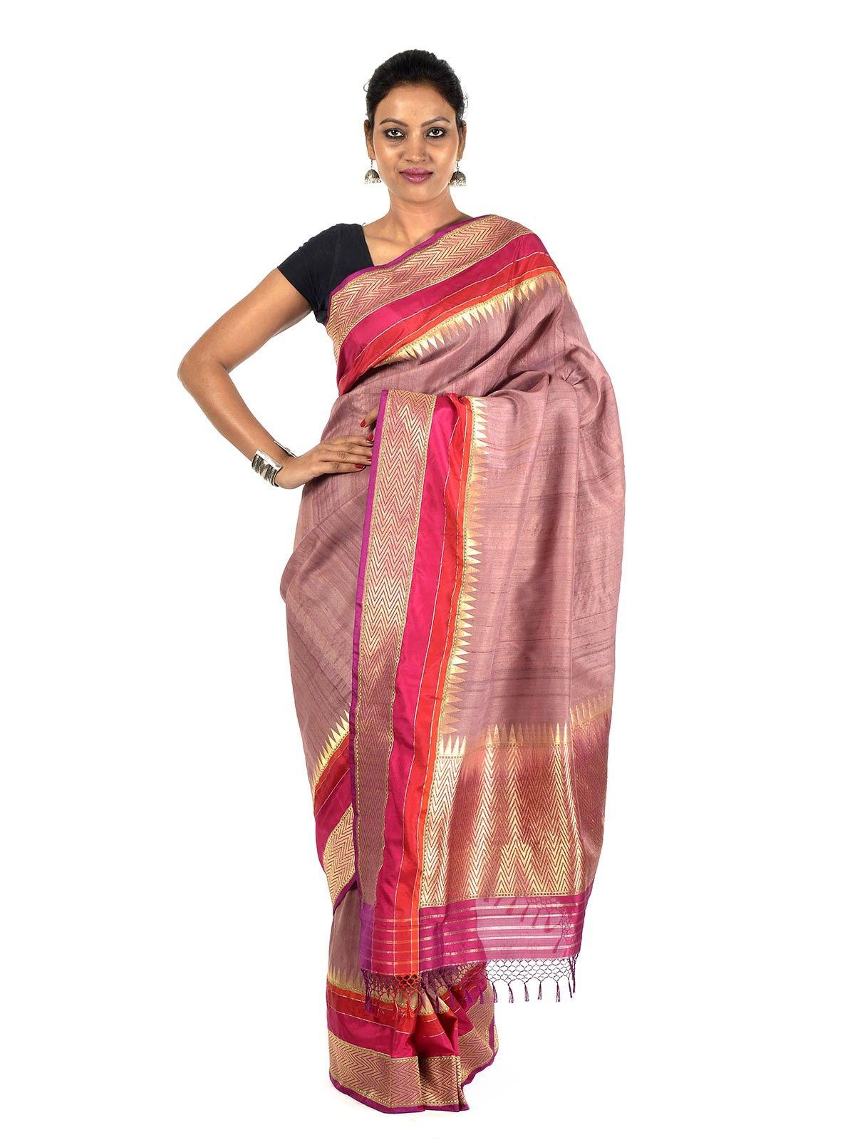 Airtafae Banarasi Silk Saree