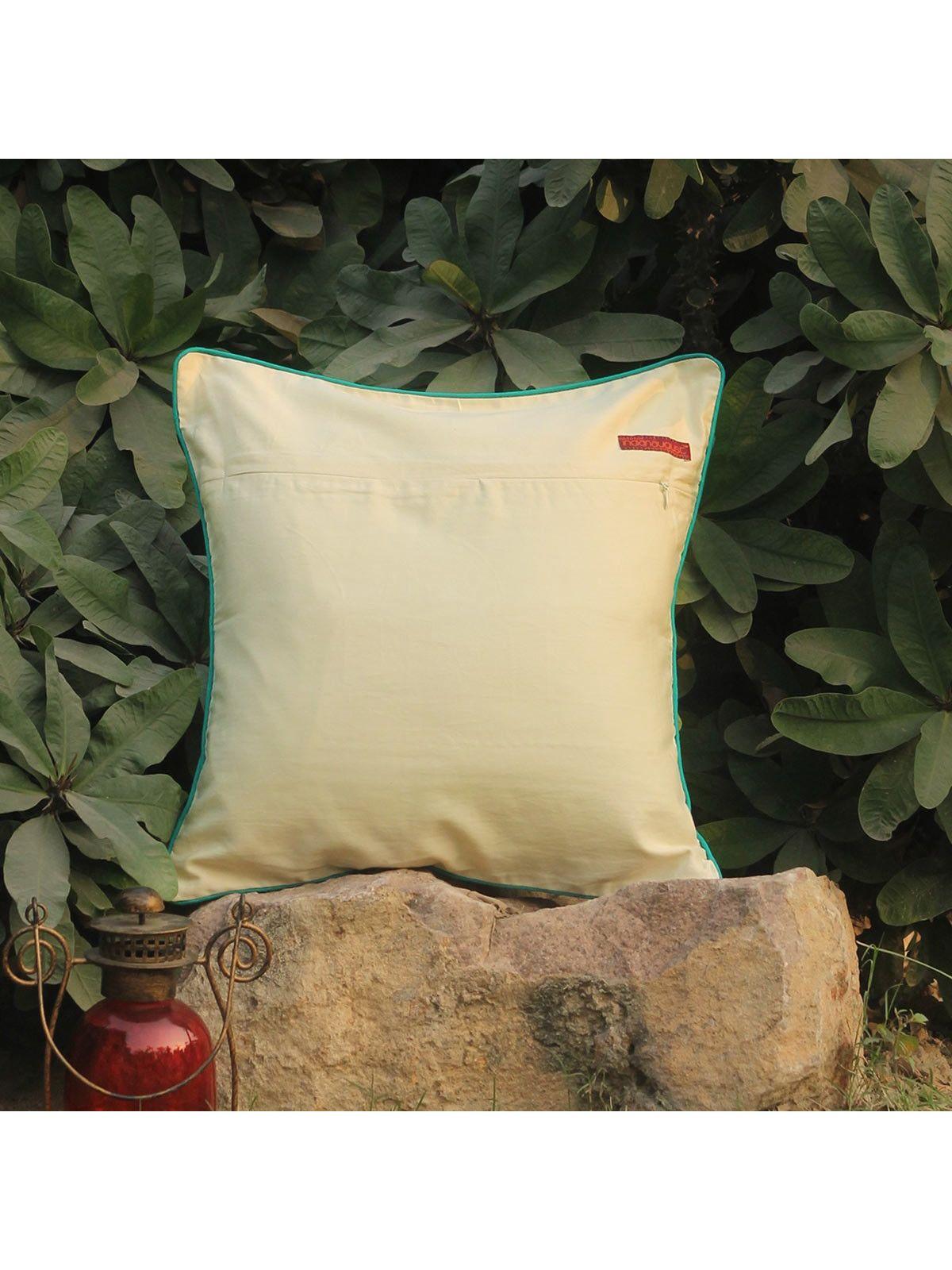 Peacock Kusum Kuhar cushion