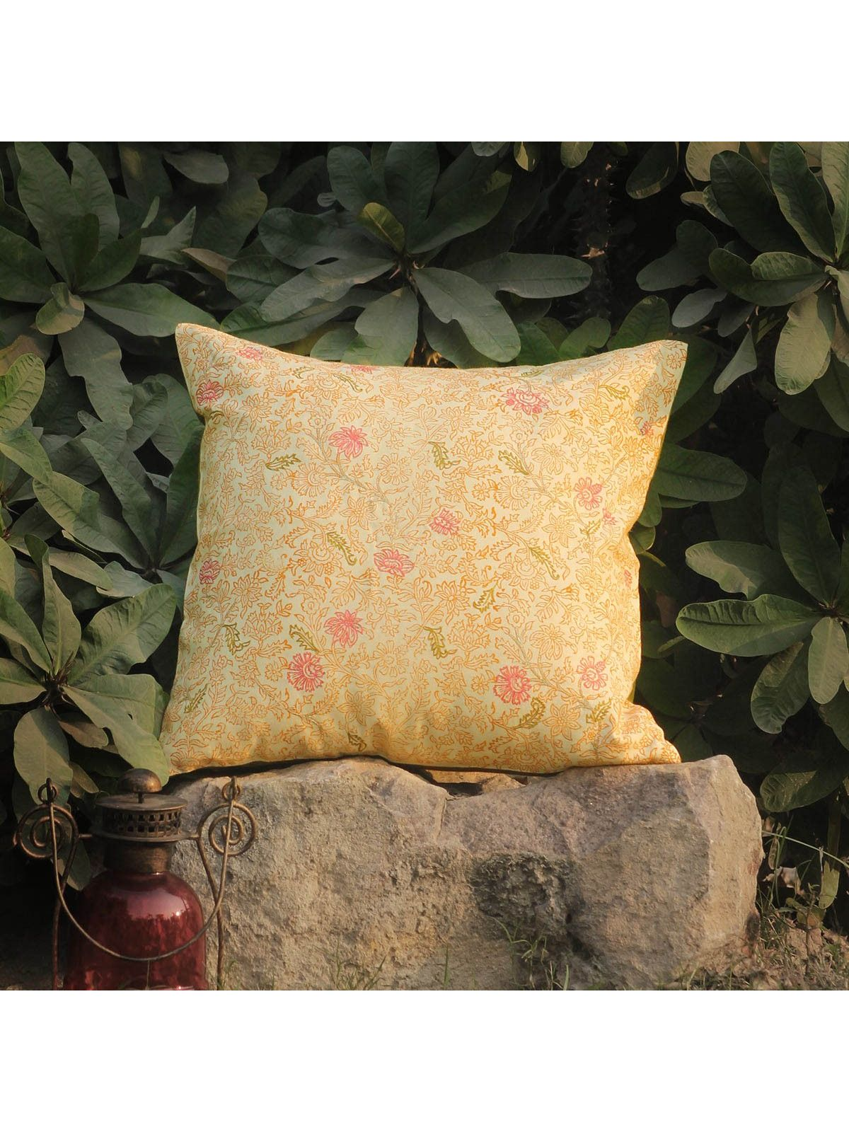 Rose Pink Kusum Jalaka cushion