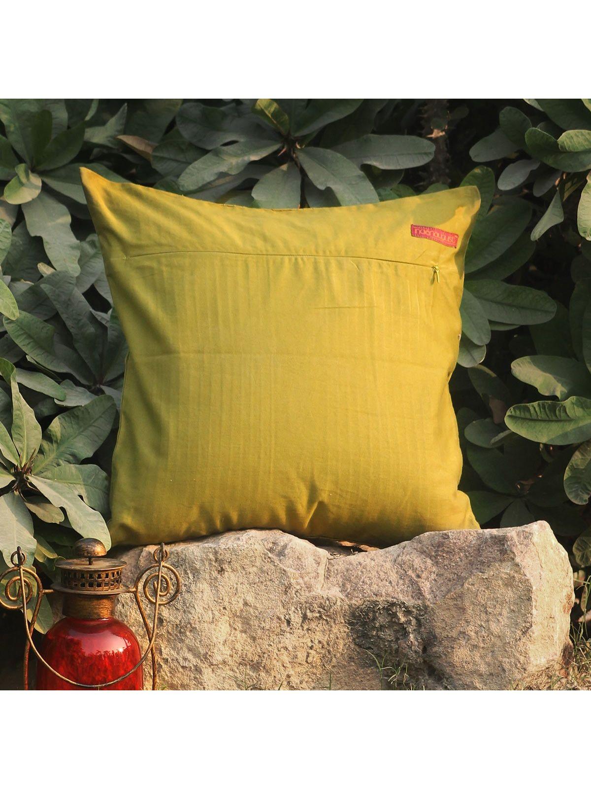 Rose Pink Kusum Jalaka cushion