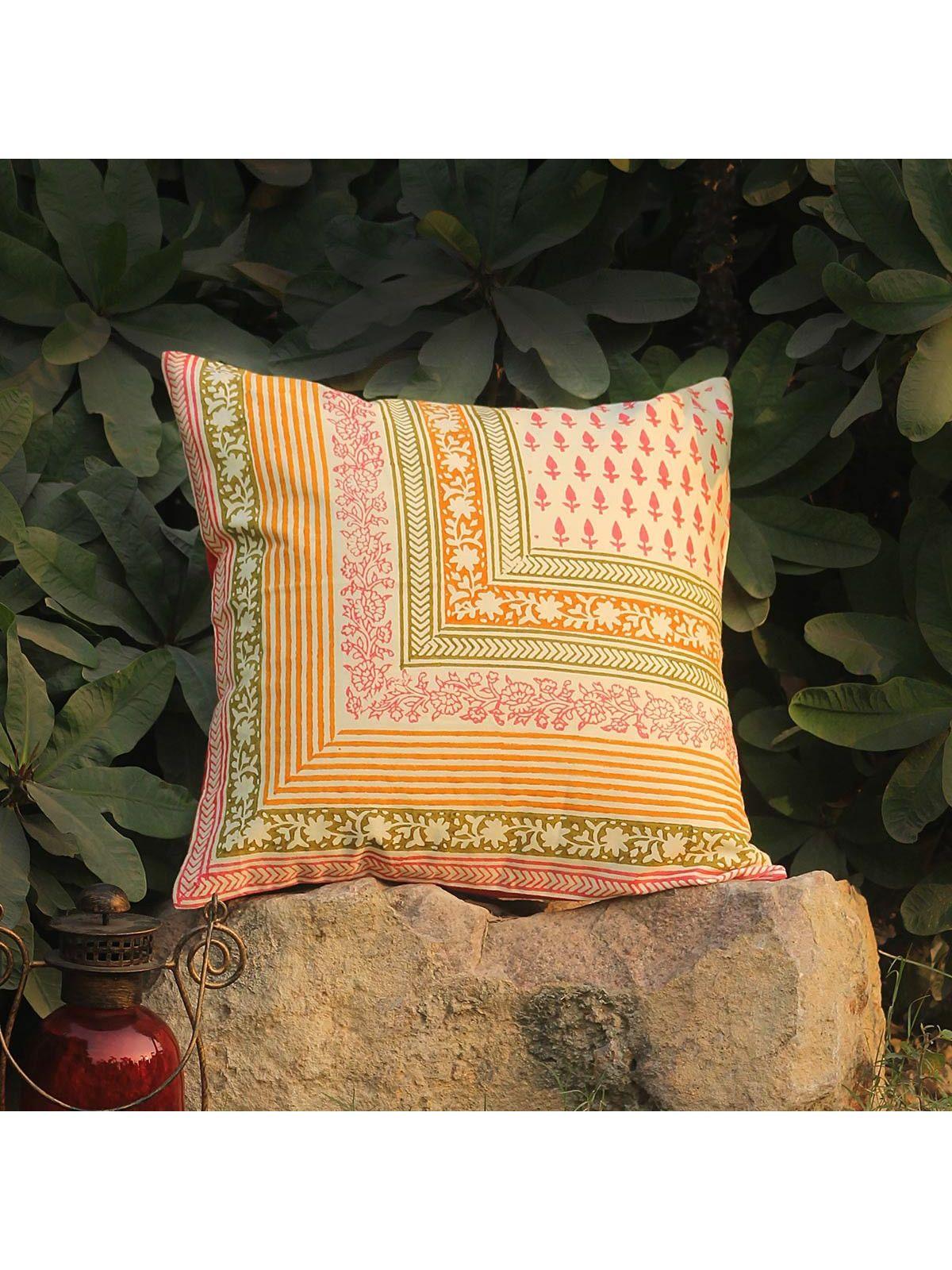 Tangerine Padahchin cushion