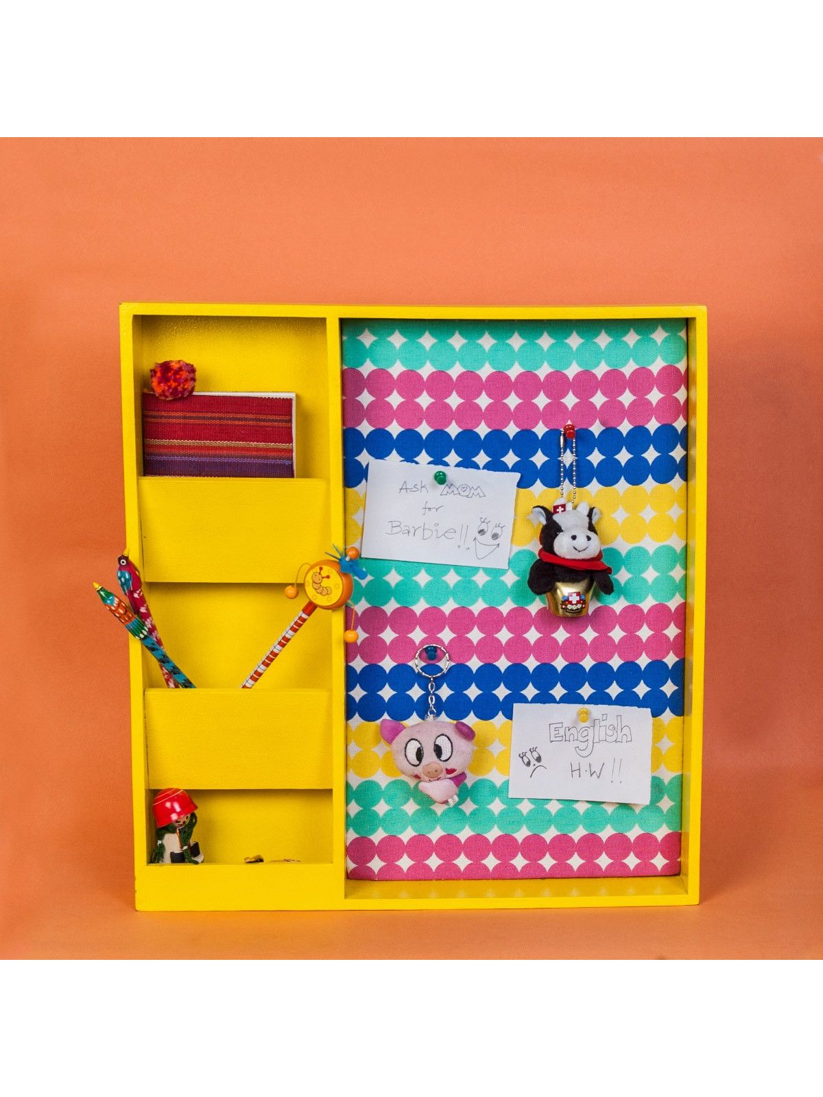 Yellow mini organizer