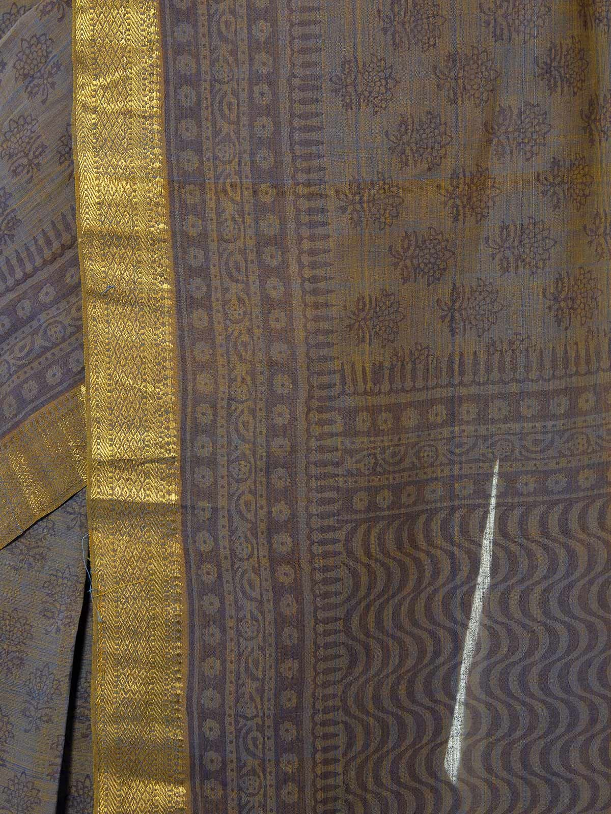 Pavuram Mangalagiri Cotton Saree